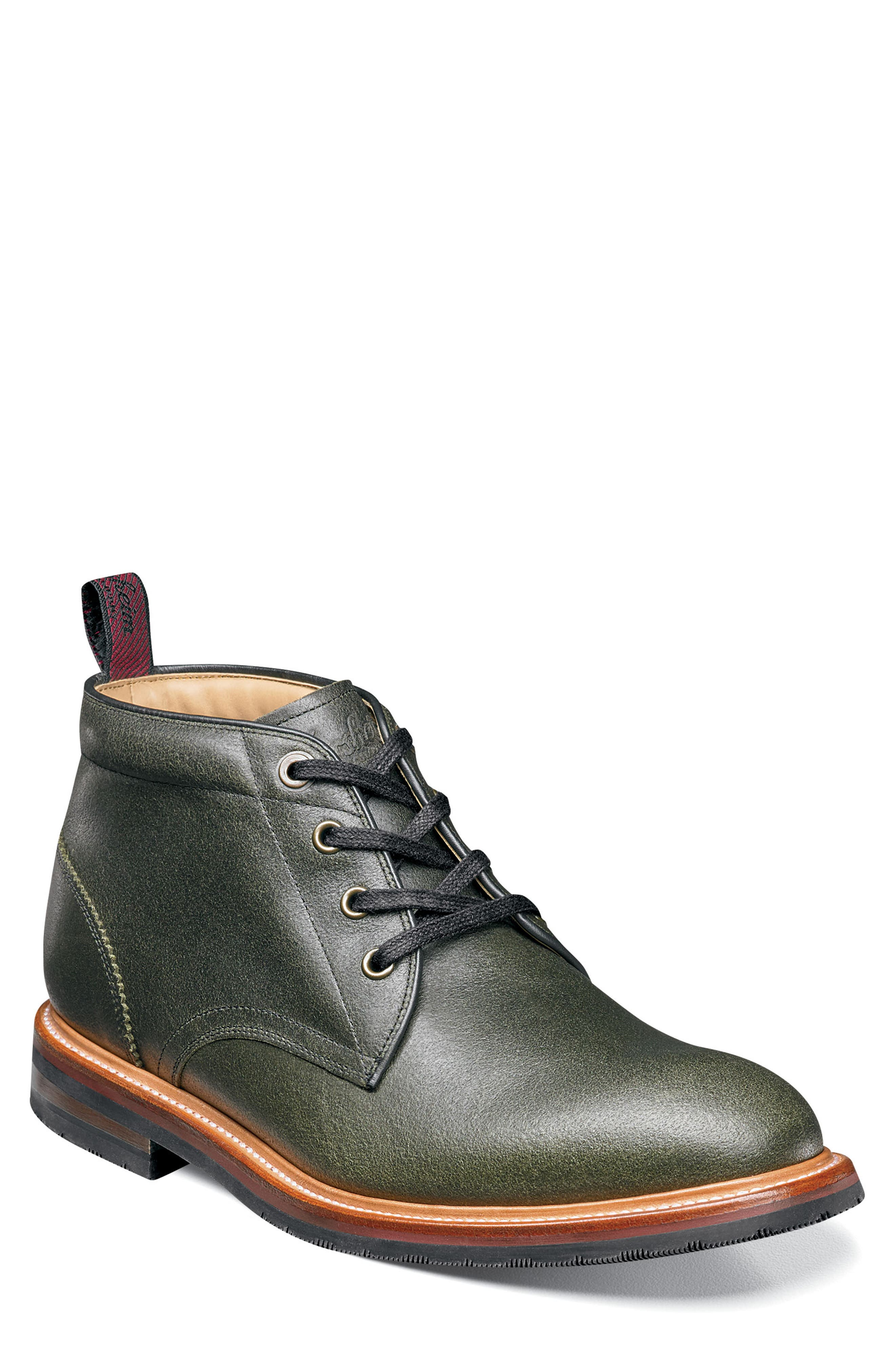 Florsheim Foundry Leather Boot, Green