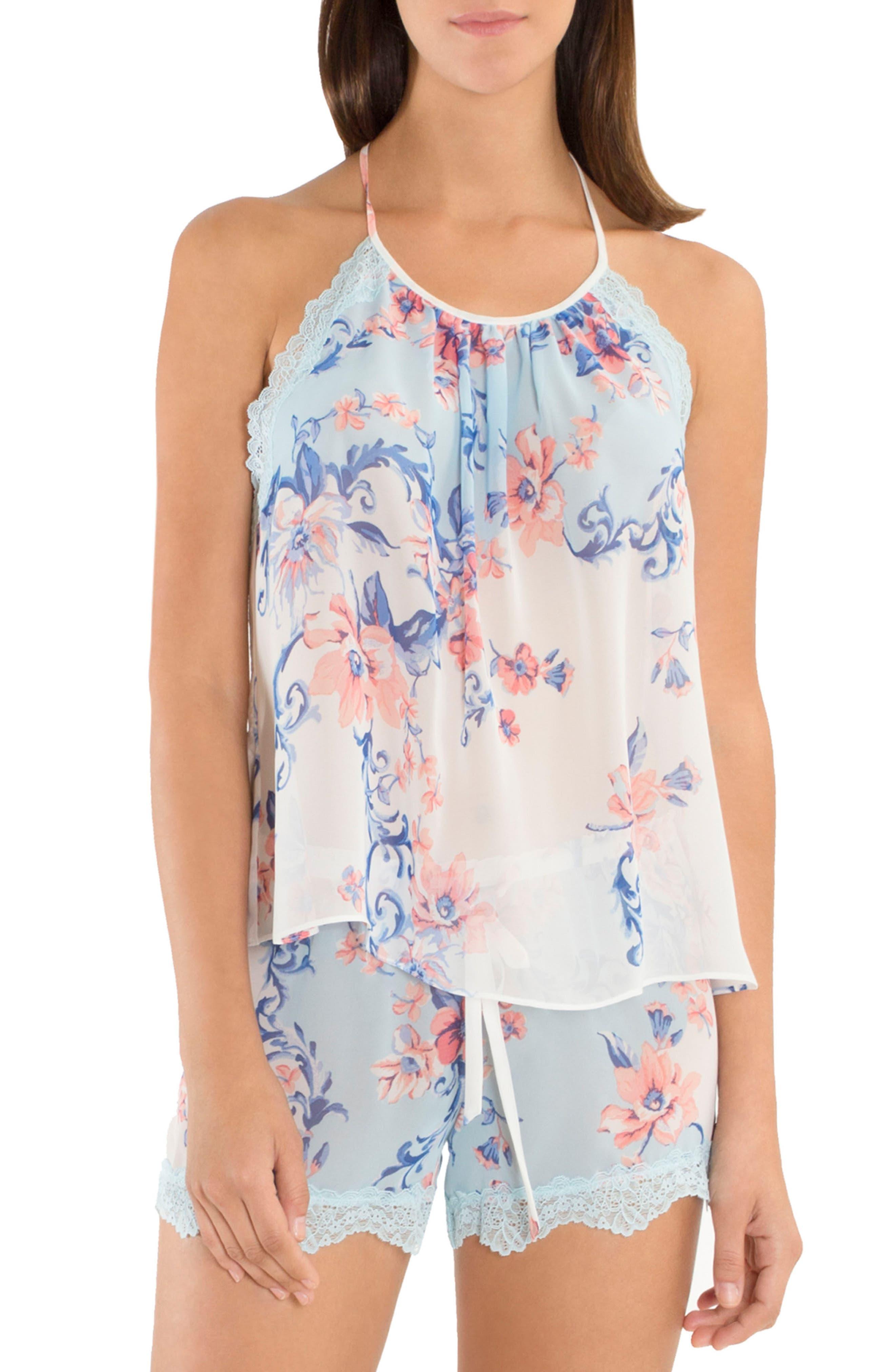 Chiffon Pajamas,                         Main,                         color, 400