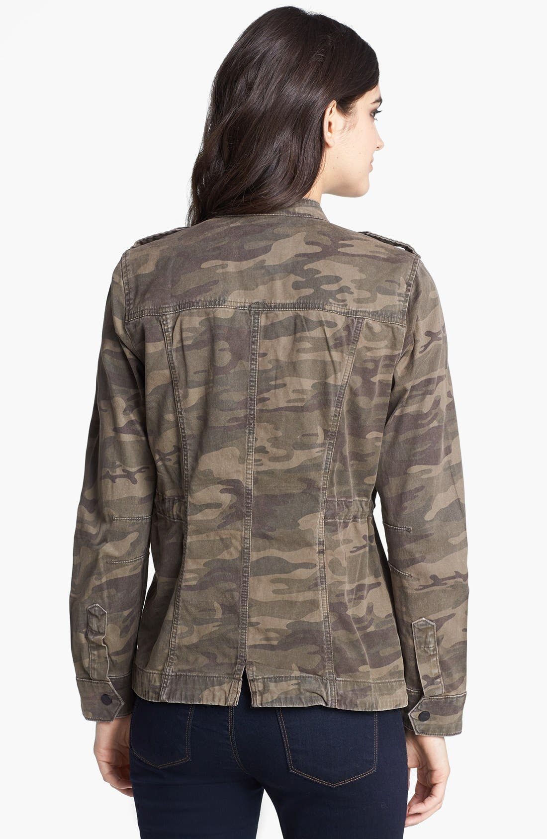 Camouflage Print Jacket,                             Alternate thumbnail 2, color,                             278