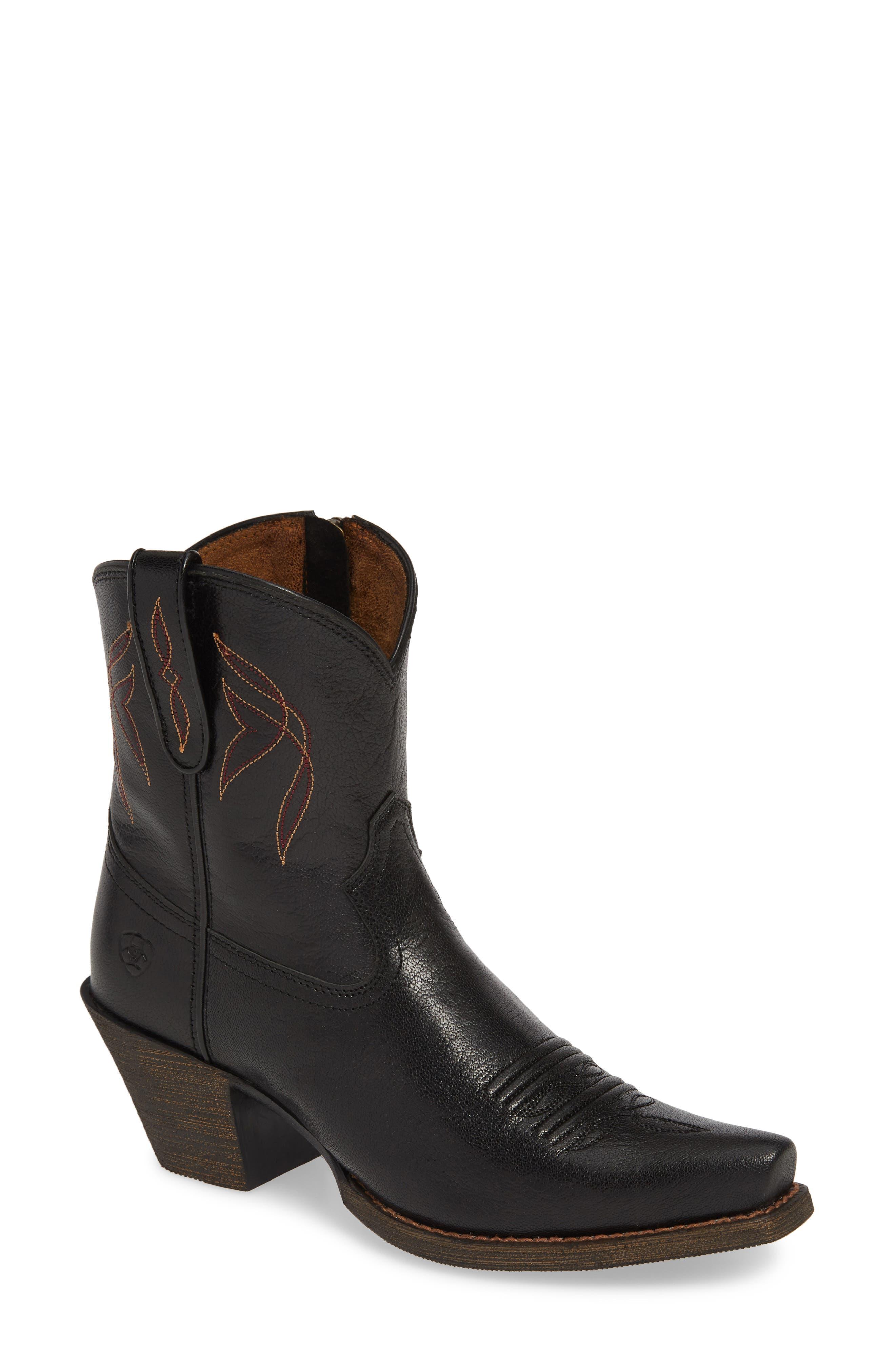 Ariat Lovely Western Boot, Black