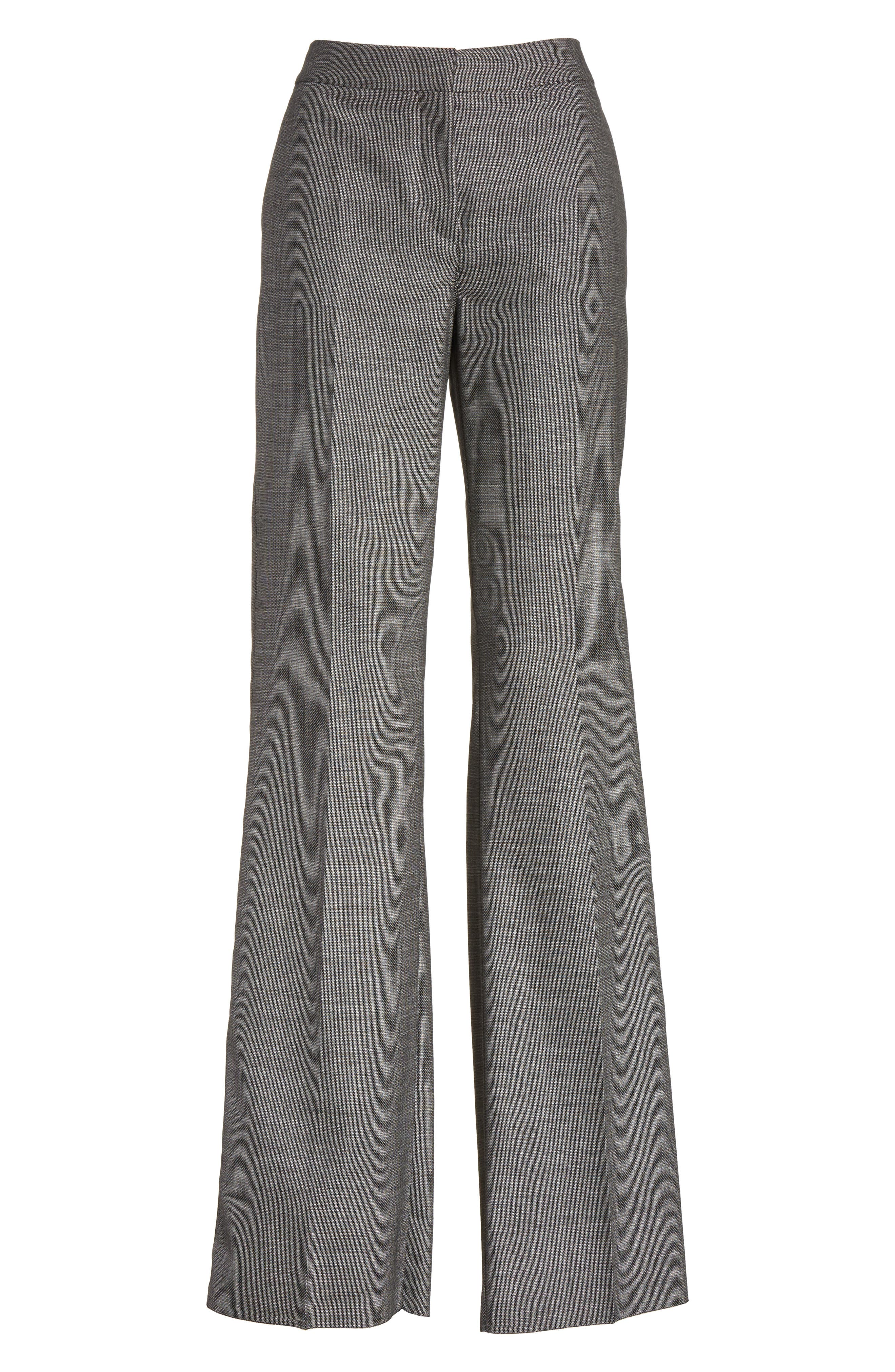 Verbas Stretch Wool Pants,                             Alternate thumbnail 6, color,                             001