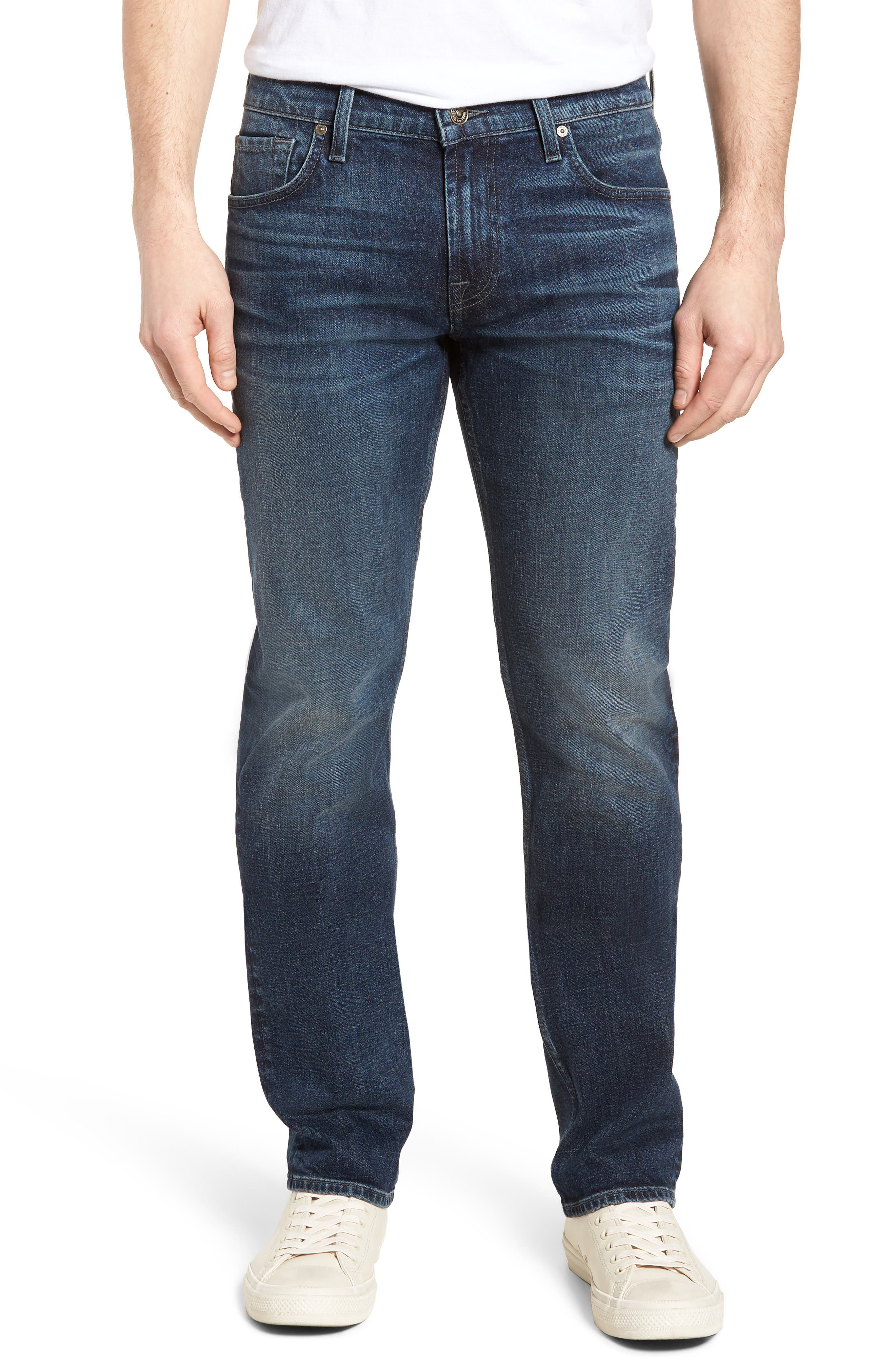 The Standard Straight Leg Jeans,                         Main,                         color, 402