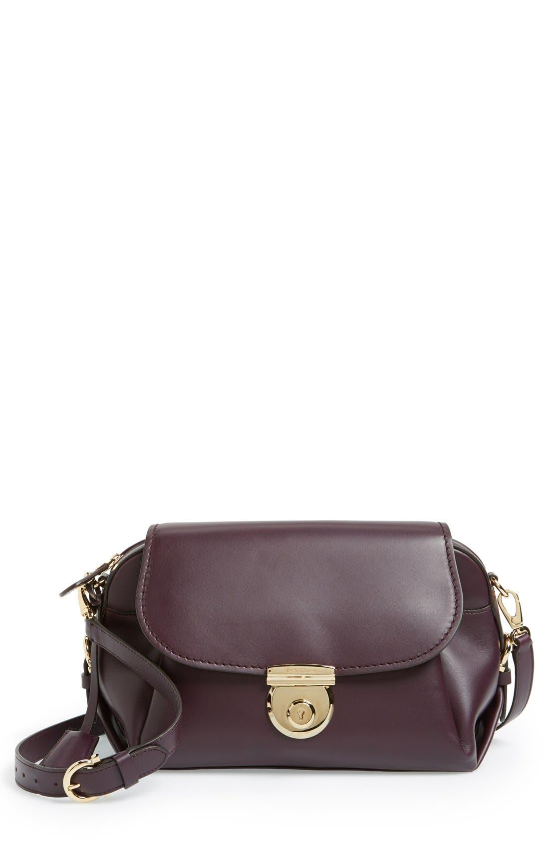 SALVATORE FERRAGAMO 'Fiamma' Crossbody Bag, Main, color, 500
