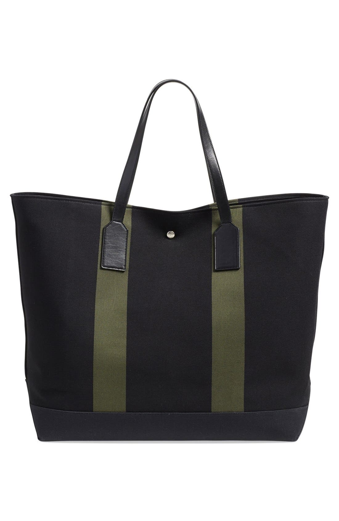 'Beach' Canvas Tote,                             Alternate thumbnail 7, color,