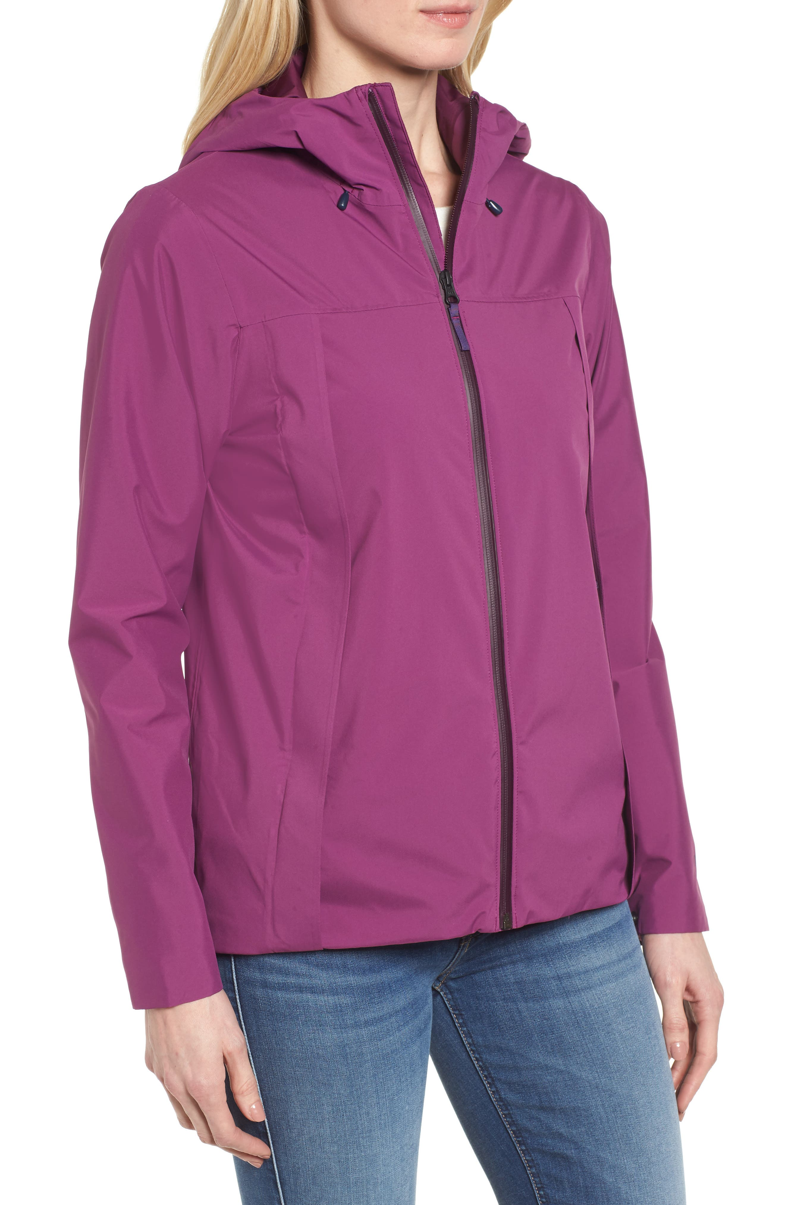 Yosemite Falls Hooded Jacket,                             Alternate thumbnail 8, color,