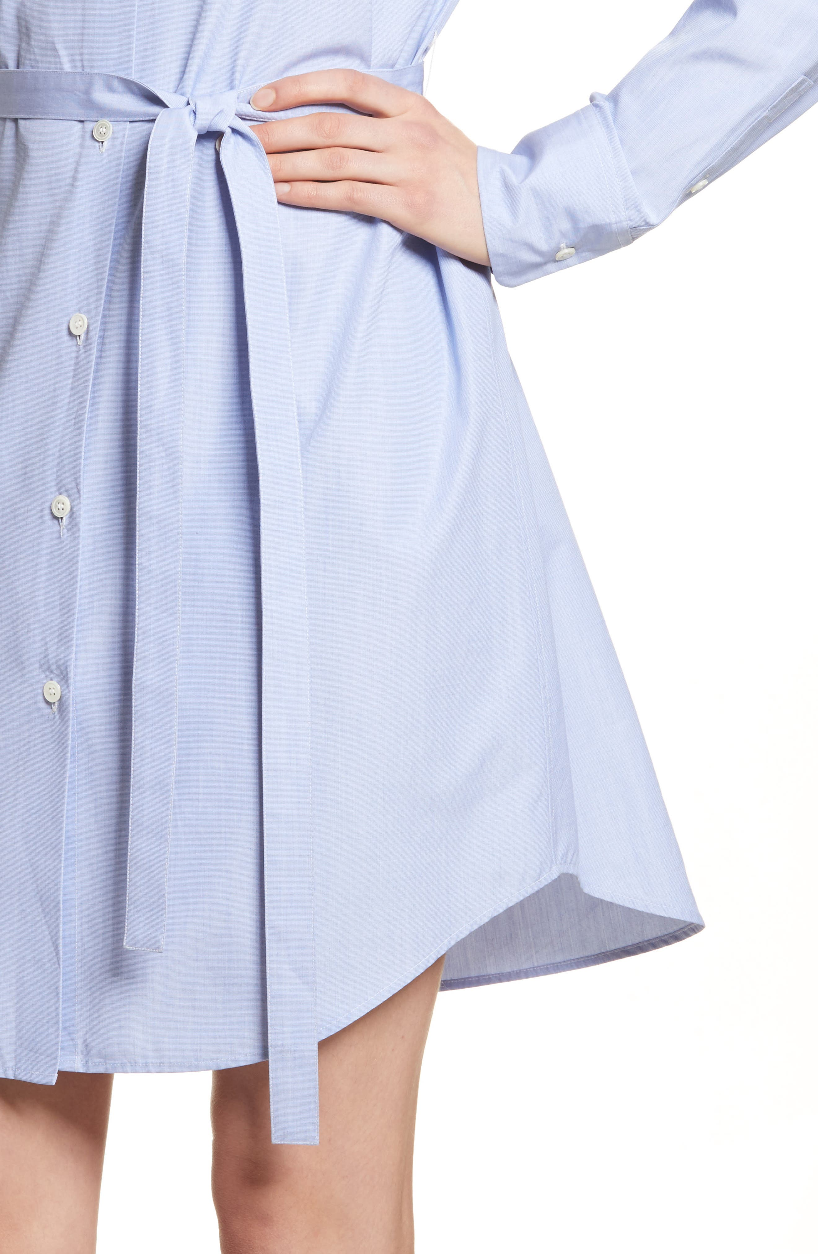 Crowley Cotton Shirtdress,                             Alternate thumbnail 4, color,                             473