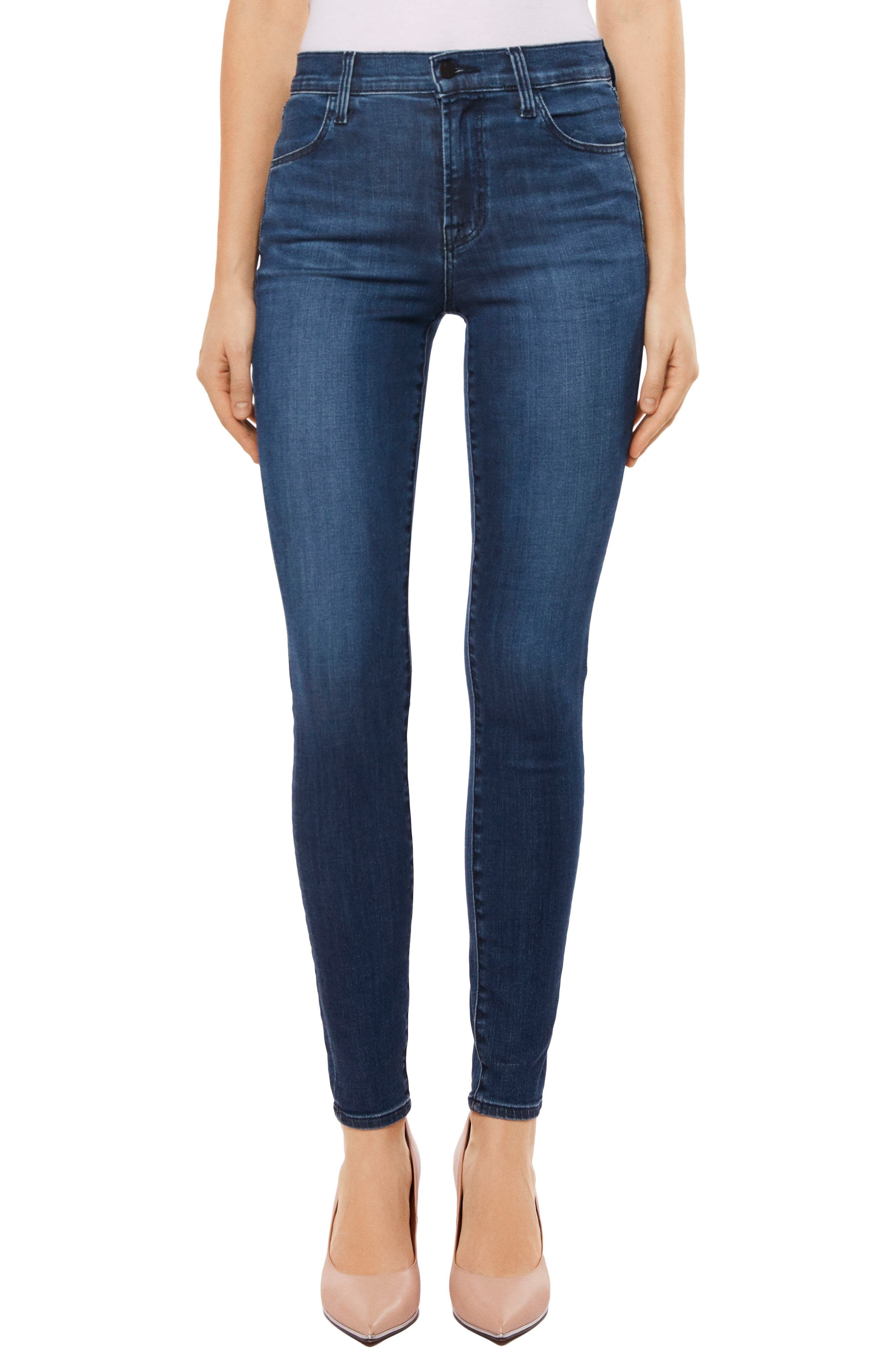 Maria High Waist Skinny Jeans,                             Main thumbnail 6, color,