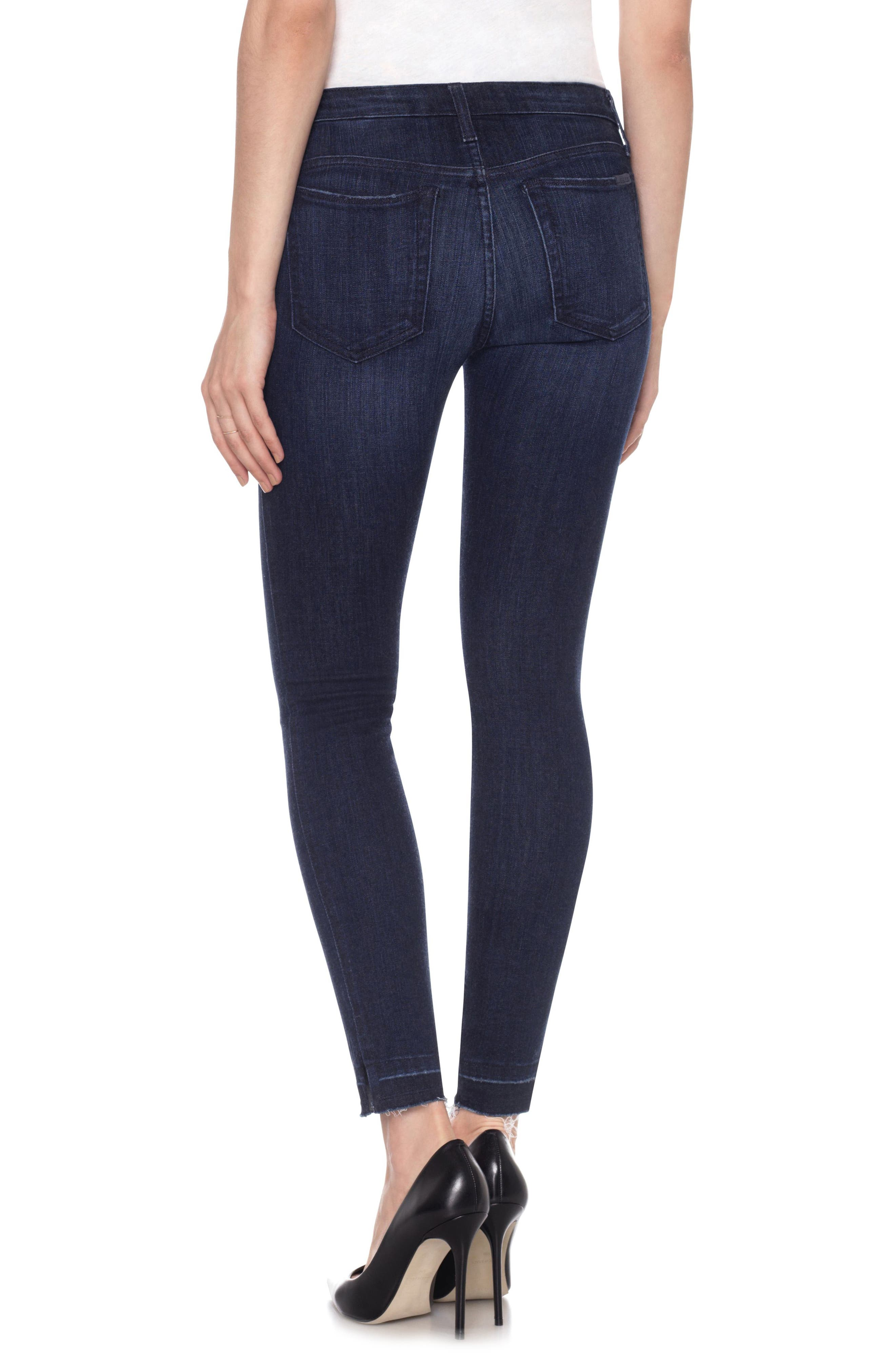 Icon Ankle Release Hem Skinny Jeans,                             Alternate thumbnail 2, color,                             400
