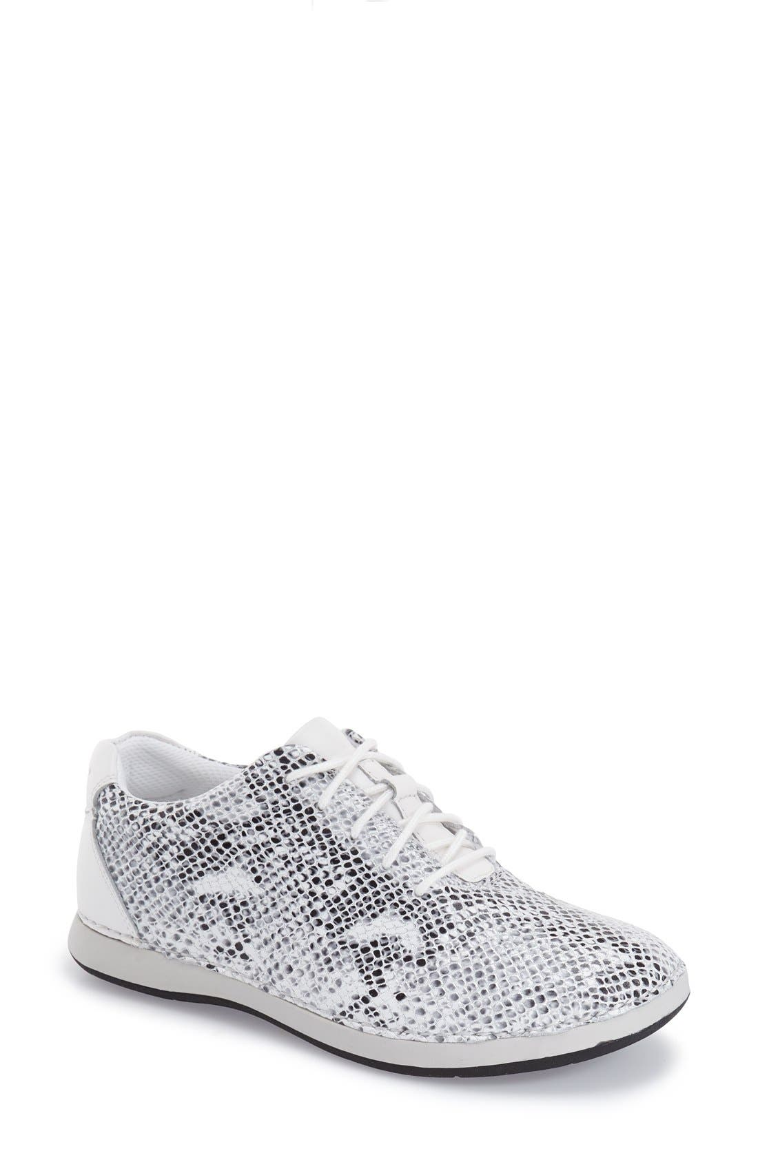 Essence Lace-Up Leather Oxford,                             Main thumbnail 18, color,