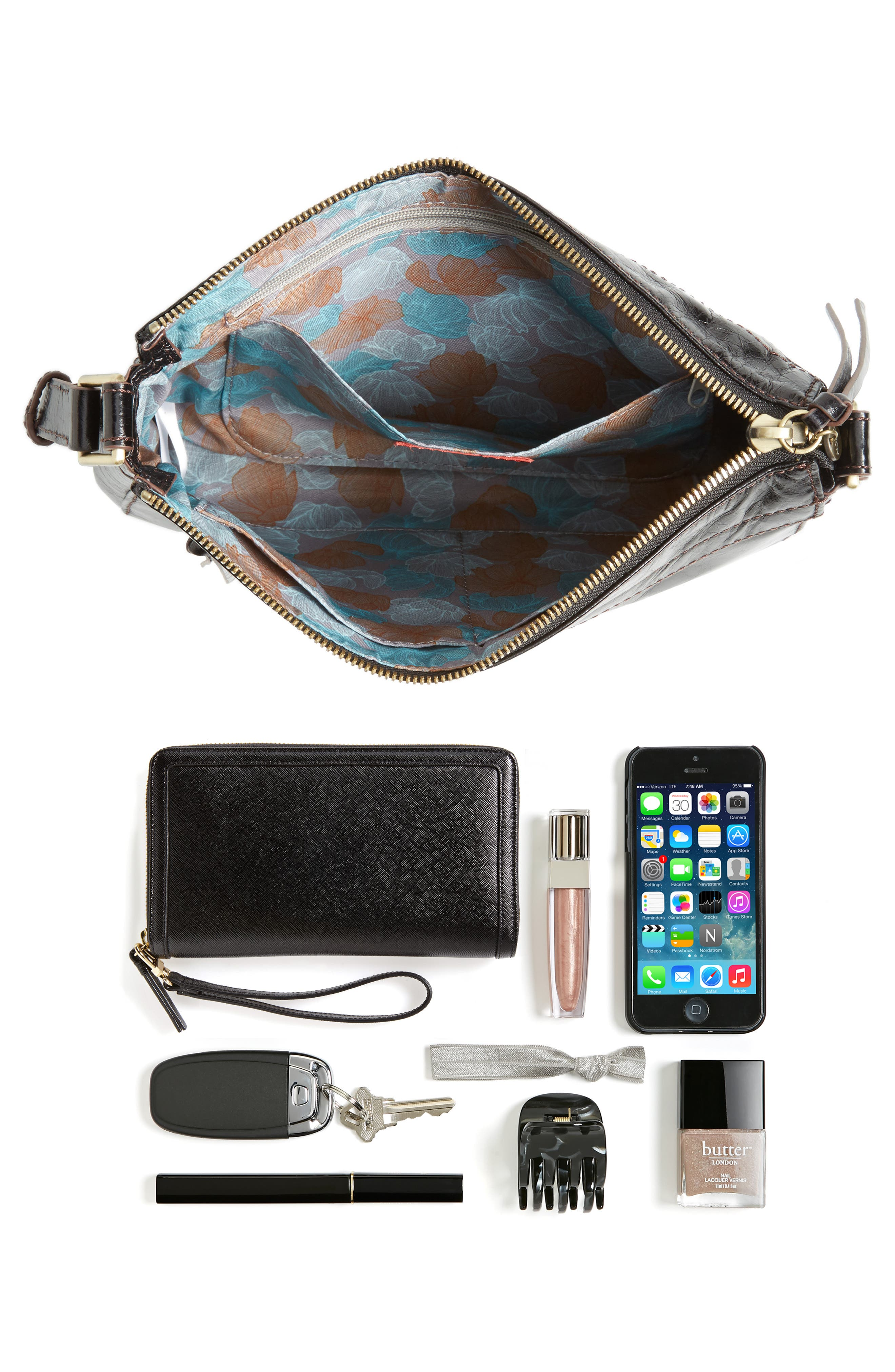 Tobey Leather Crossbody Bag,                             Alternate thumbnail 20, color,