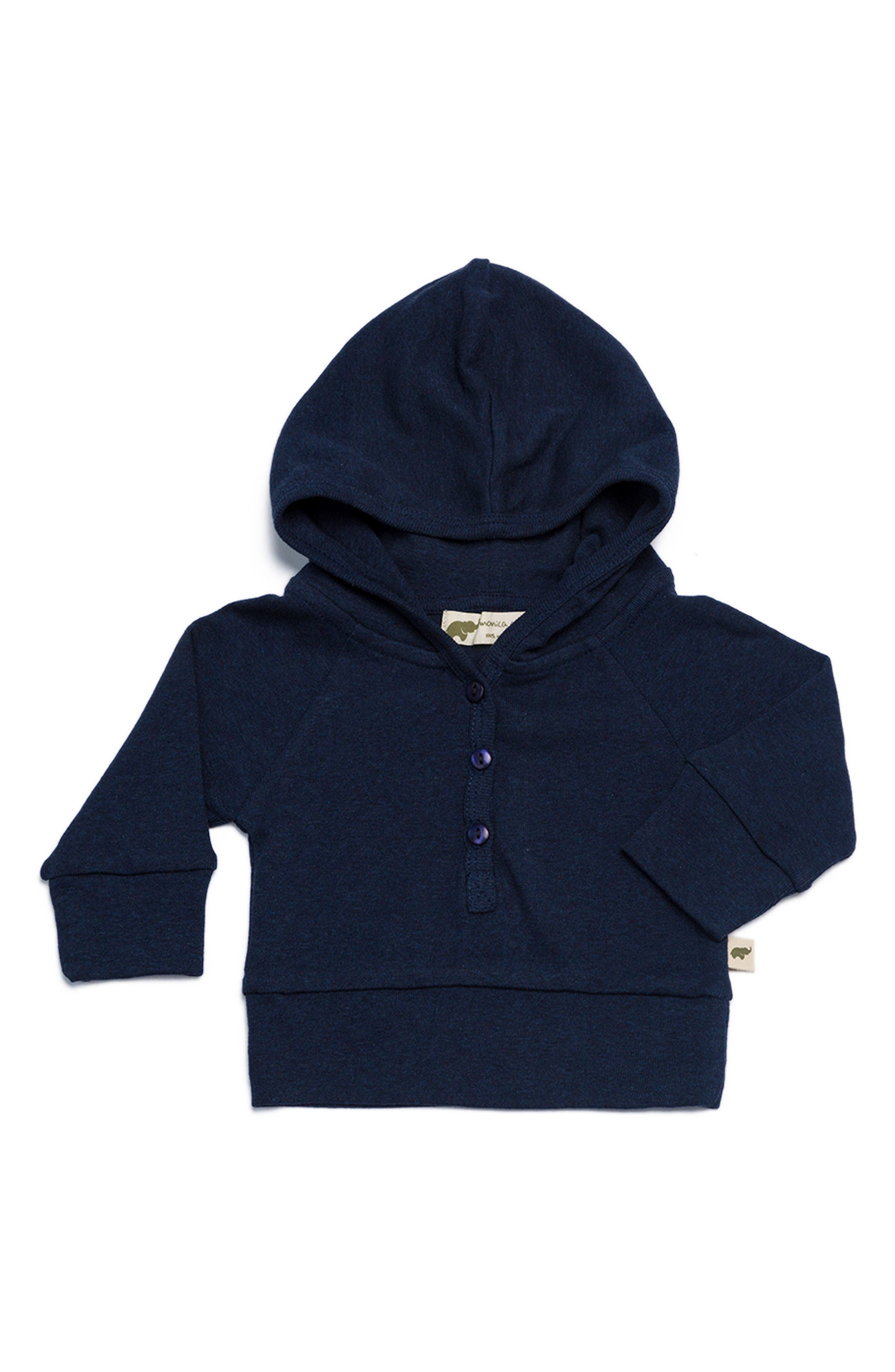 Organic Cotton Hoodie,                             Main thumbnail 2, color,