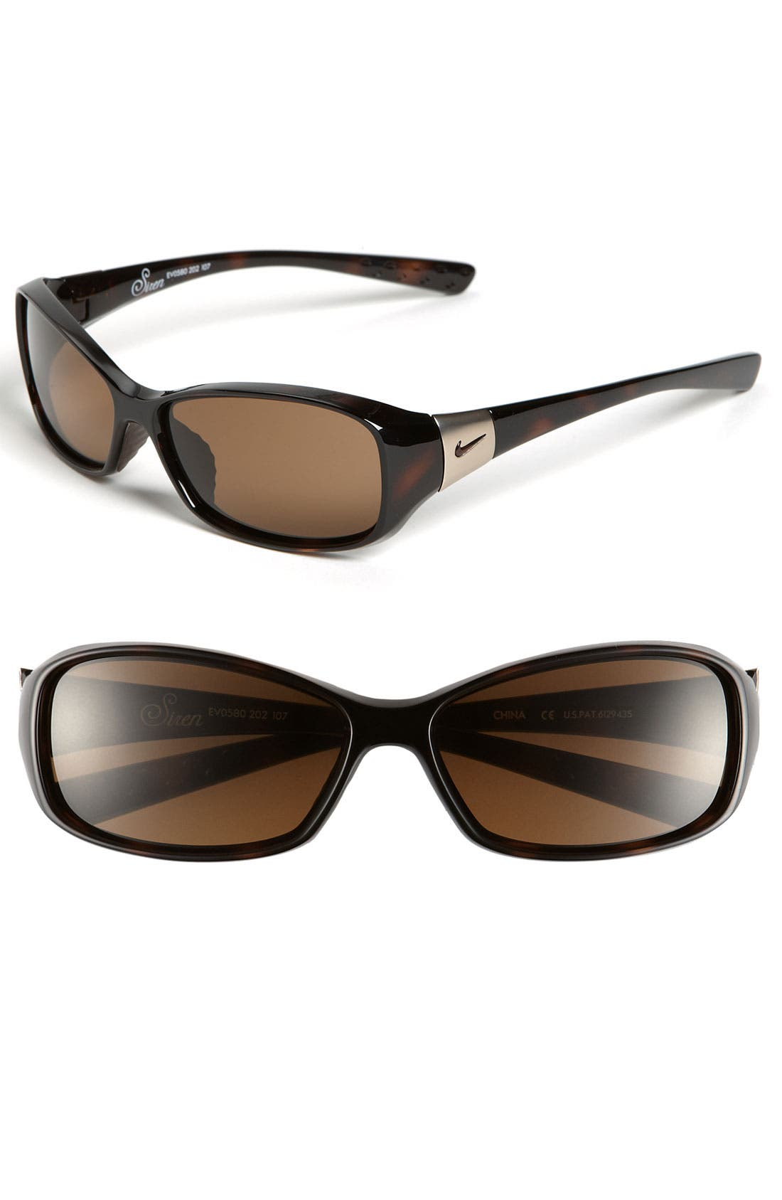 'Siren' 58mm Sunglasses,                         Main,                         color, 200