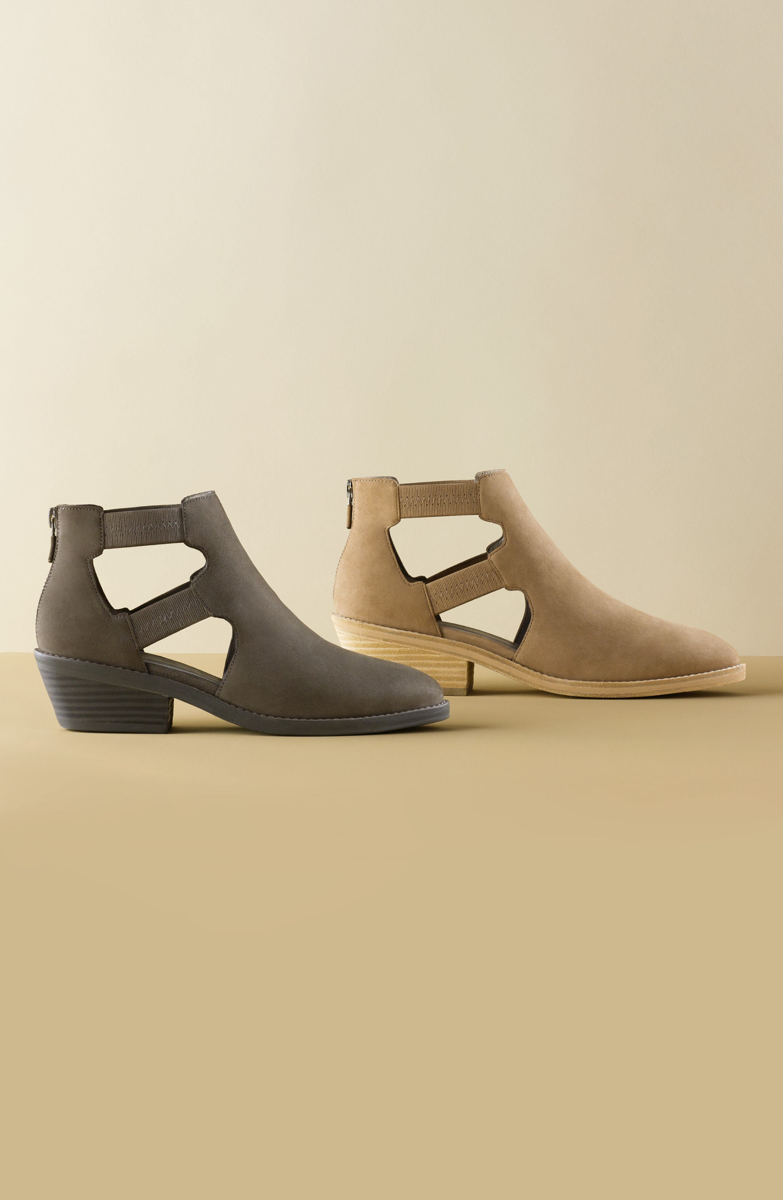 Vanda Cutout Bootie,                             Alternate thumbnail 8, color,                             001