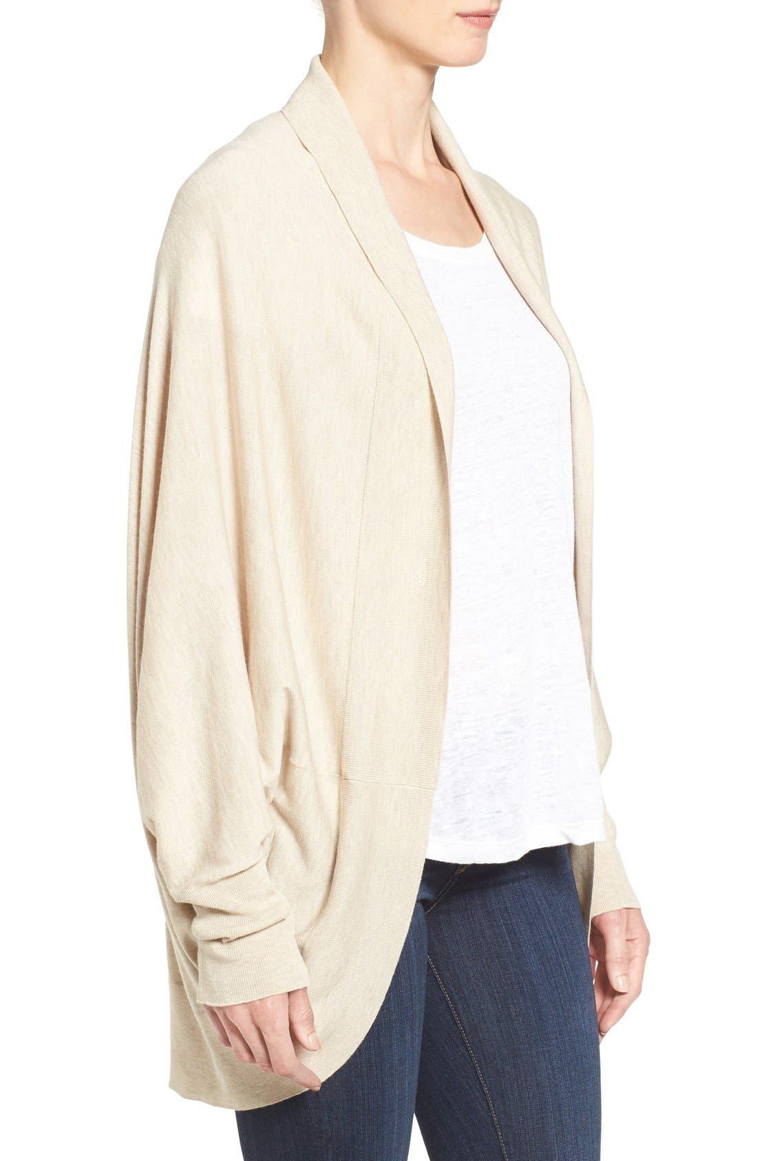 Knit Cocoon Cardigan,                             Alternate thumbnail 27, color,