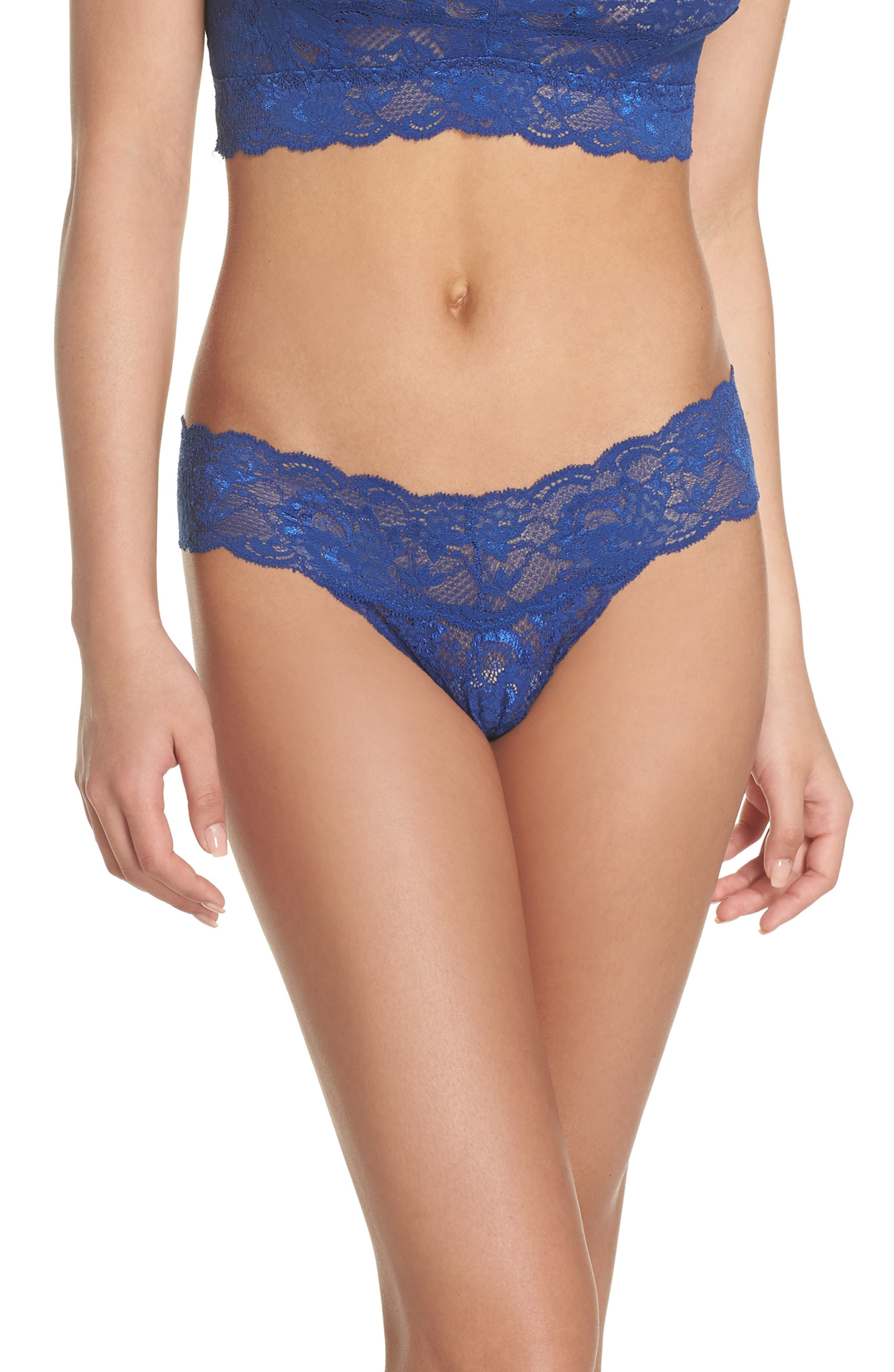 'Never Say Never Cutie' Thong,                             Alternate thumbnail 115, color,
