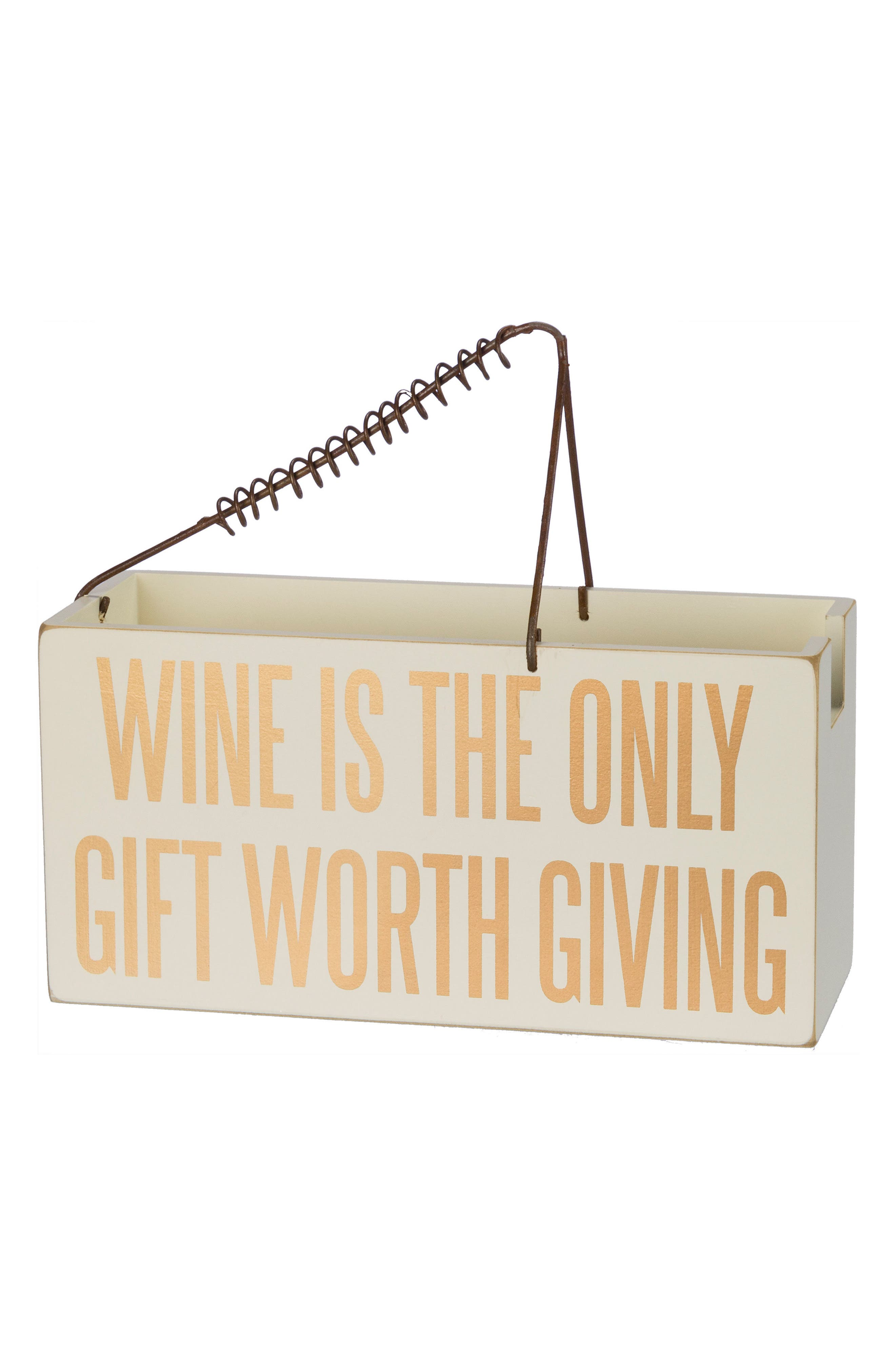 Wine is the Only Gift Worth Giving,                             Main thumbnail 1, color,                             710