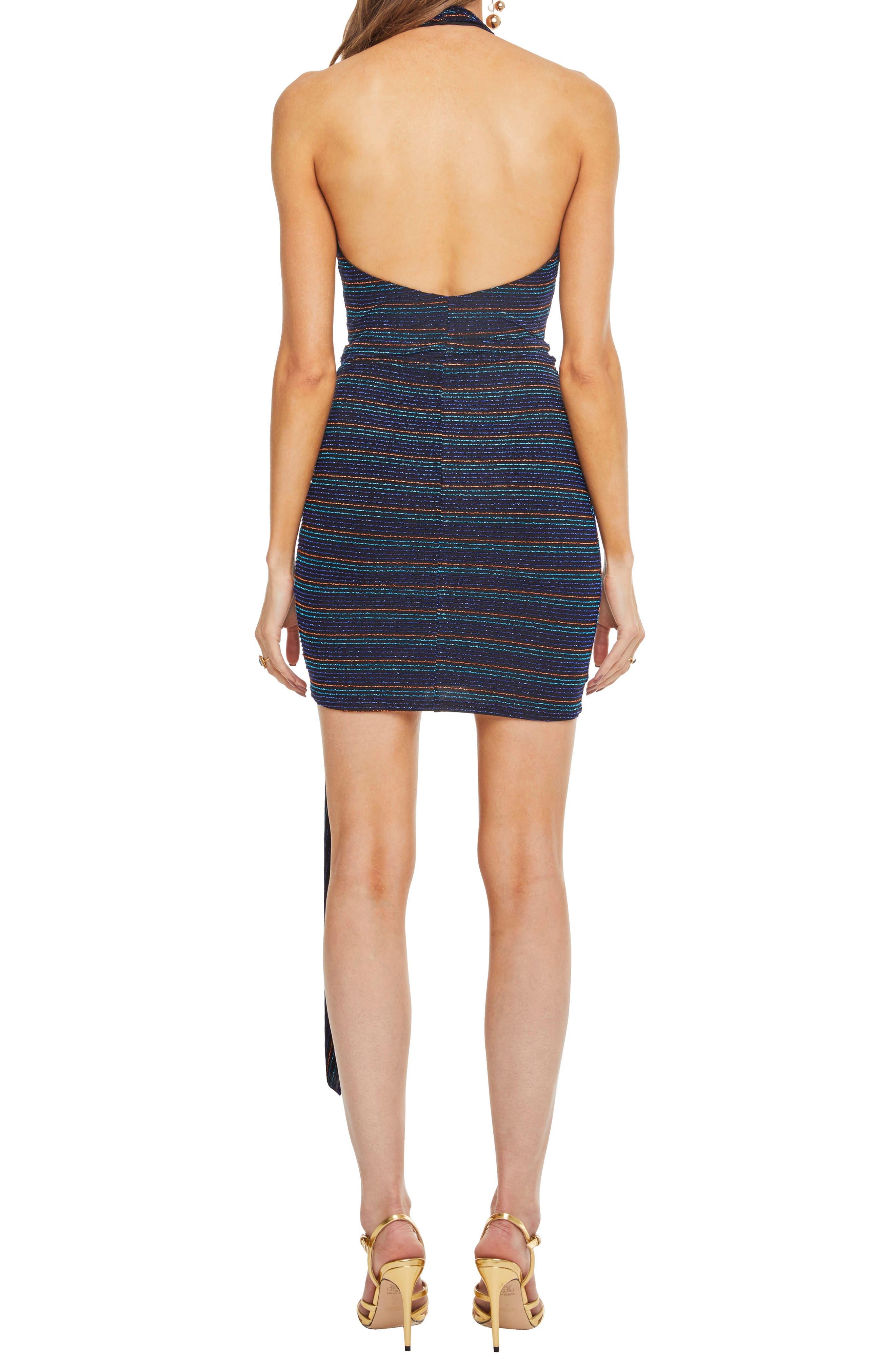Nightcap Dress,                             Alternate thumbnail 2, color,                             DISCO STRIPE