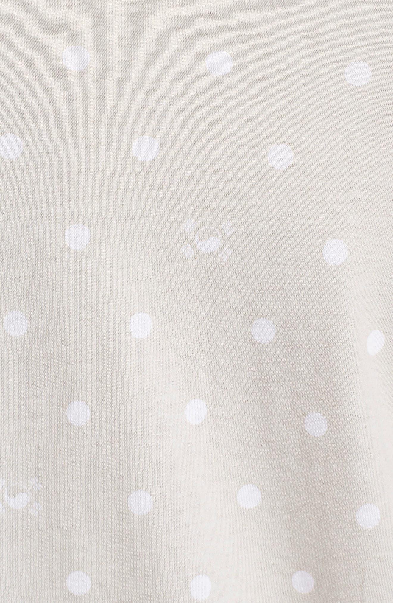 International Collection Star Print T-Shirt,                             Alternate thumbnail 5, color,                             030