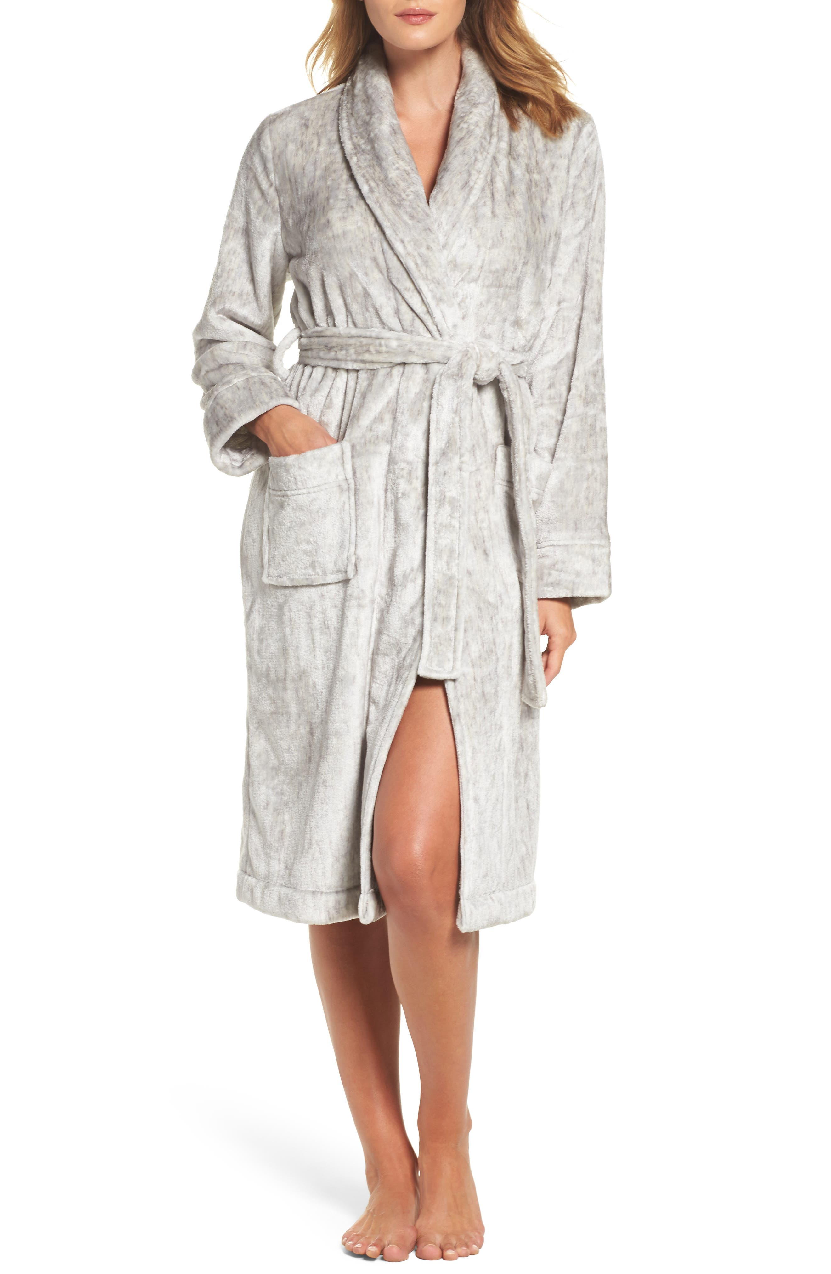 Nordstrom So Soft Plush Robe,                         Main,                         color,