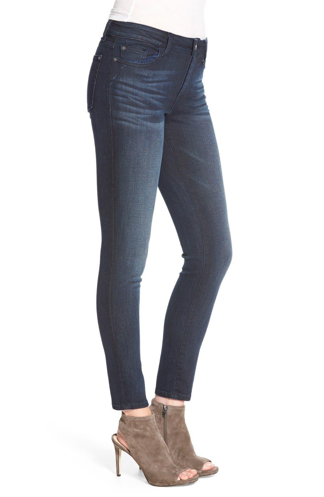 Margaux Instasculpt Ankle Skinny Jeans,                             Alternate thumbnail 3, color,                             425