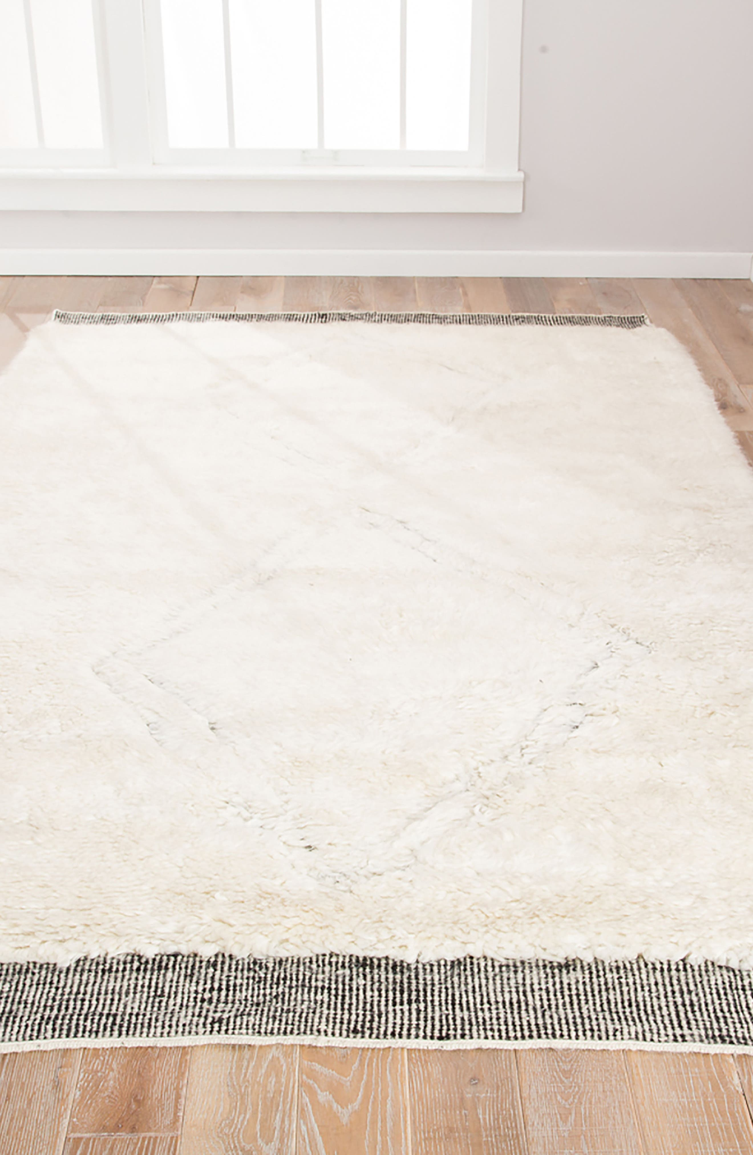 Ephesus Rug,                             Alternate thumbnail 5, color,                             ANGORA