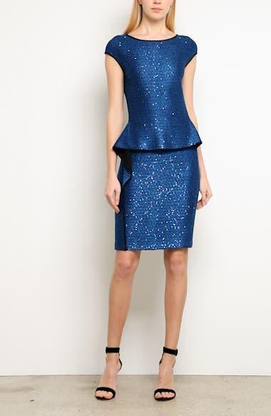 Luster Sequin Knit Dress, video thumbnail