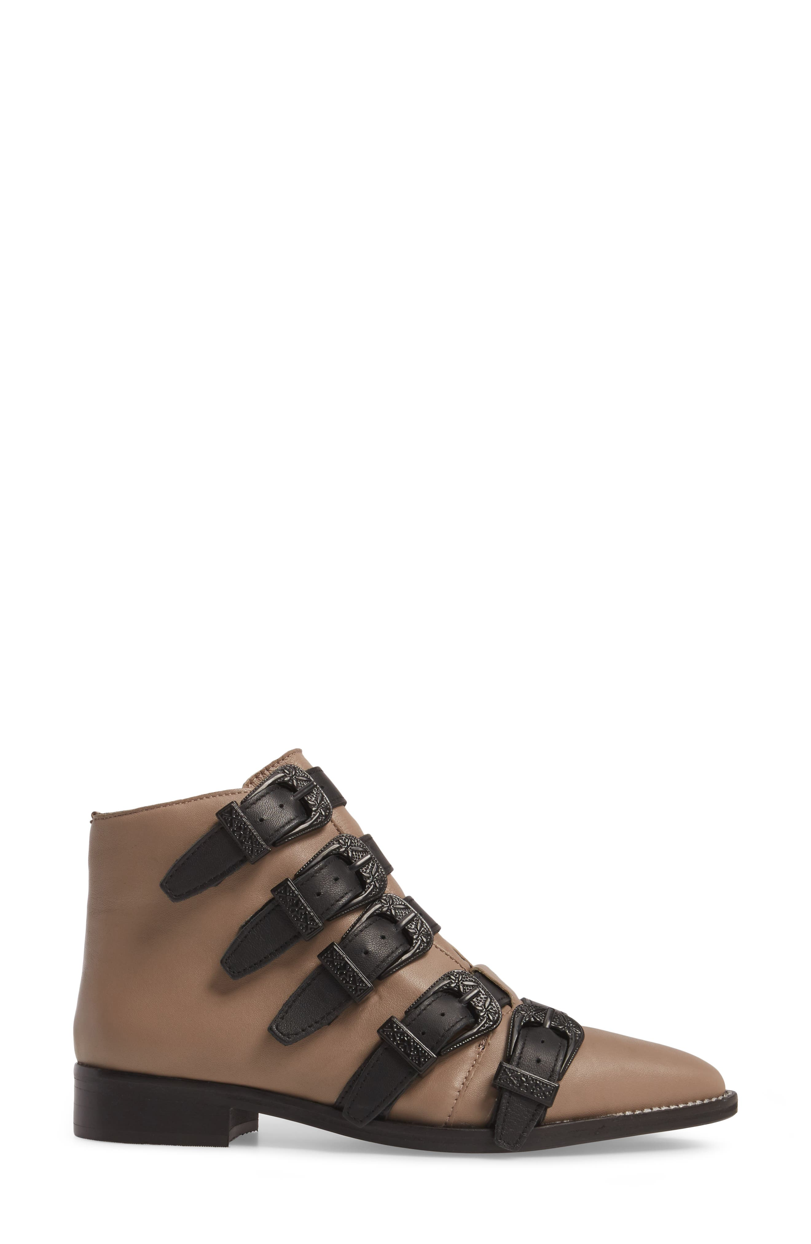 Andi Multi Buckle Boot,                             Alternate thumbnail 6, color,