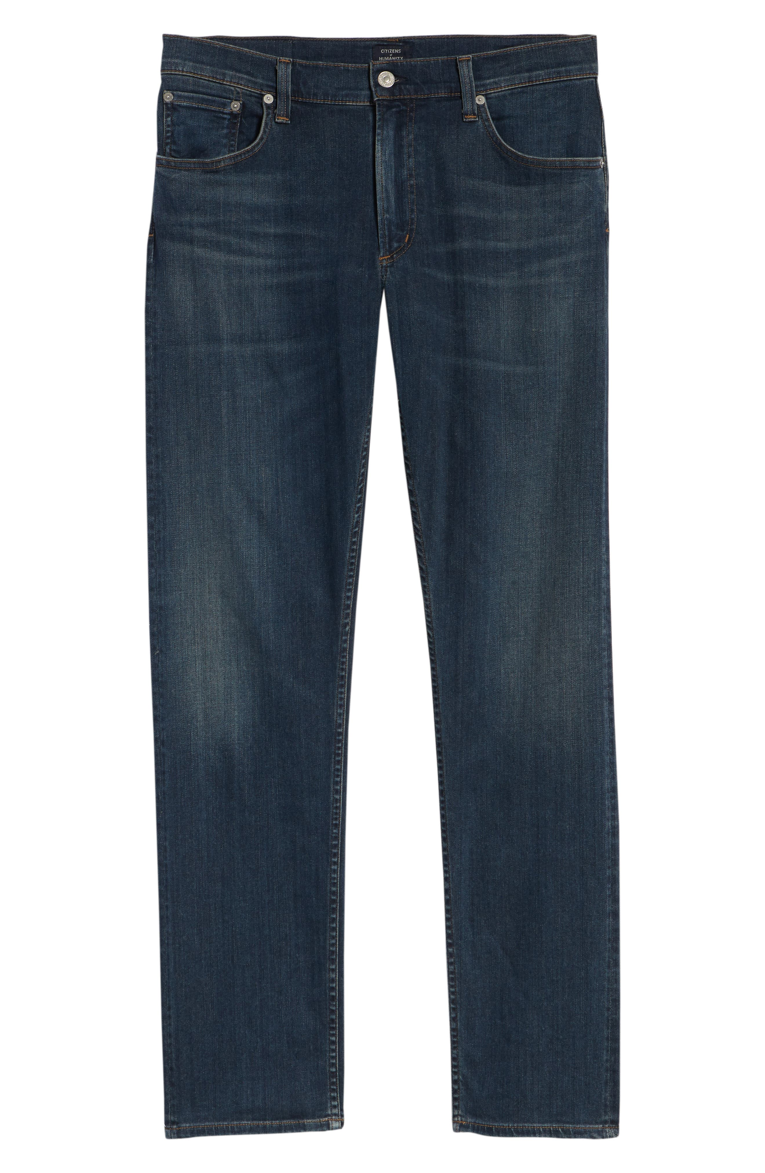 PERFORM - Bowery Slim Fit Jeans,                             Alternate thumbnail 6, color,                             424