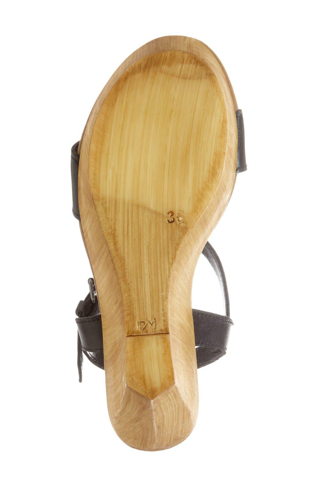 'Kalesi' Platform Wedge Sandal,                             Alternate thumbnail 2, color,                             001