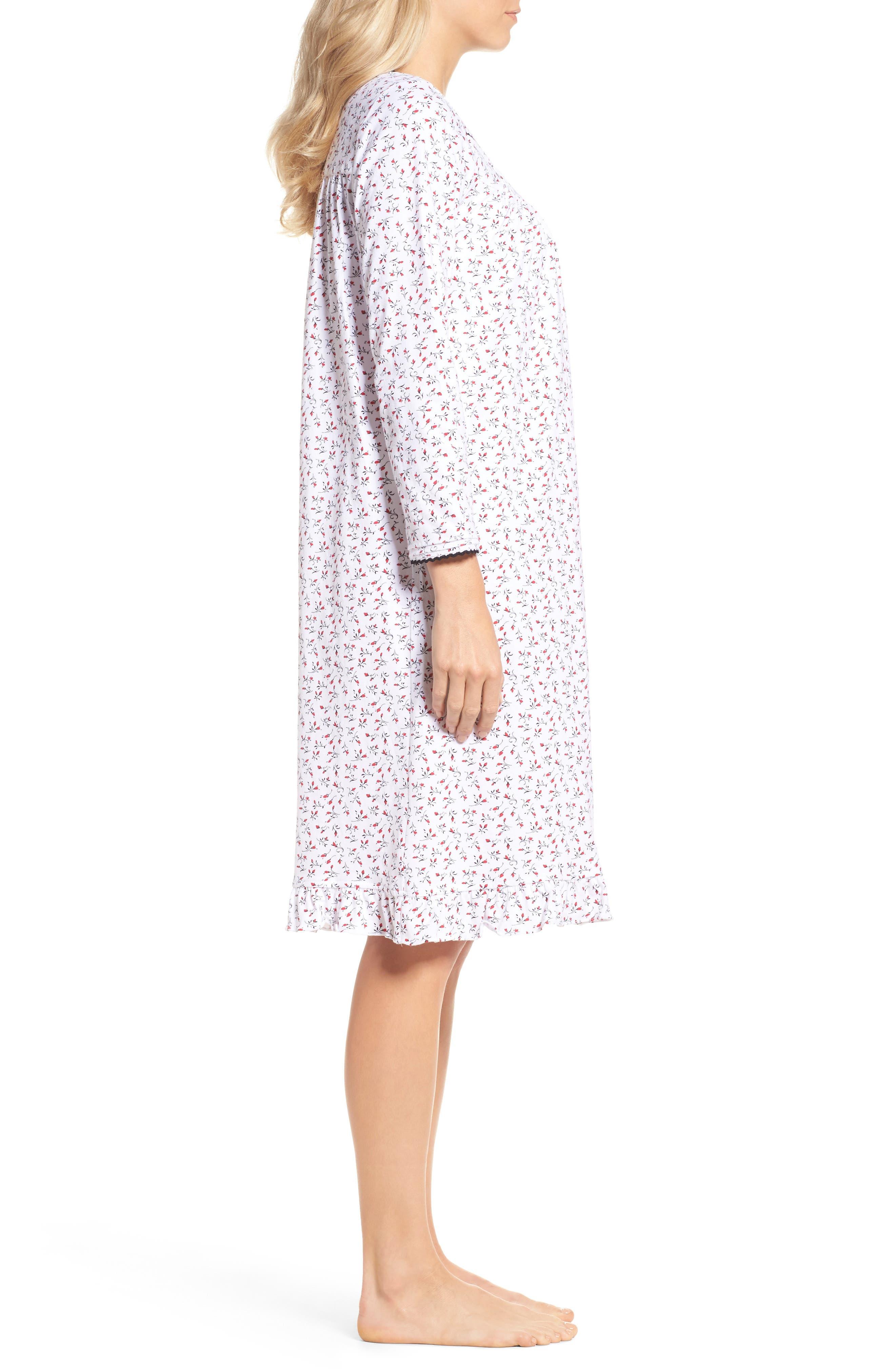 Short Nightgown,                             Alternate thumbnail 3, color,                             164