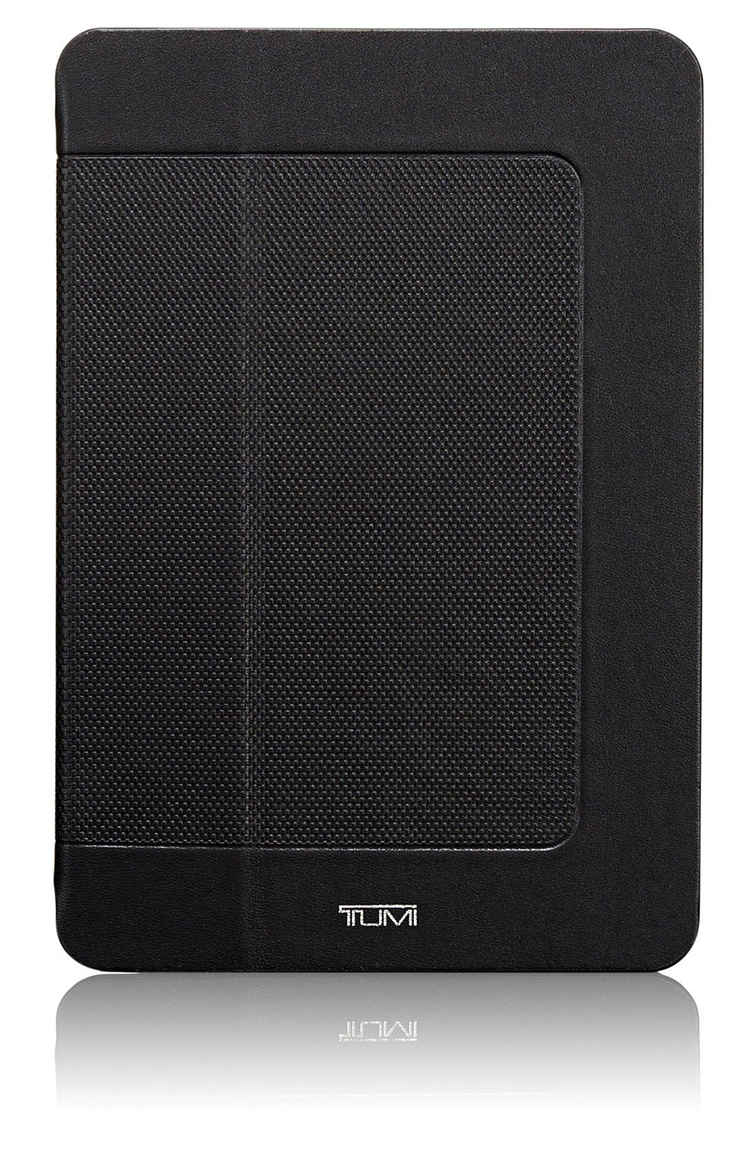 'Prism' Leather iPad mini Case,                             Main thumbnail 1, color,                             001