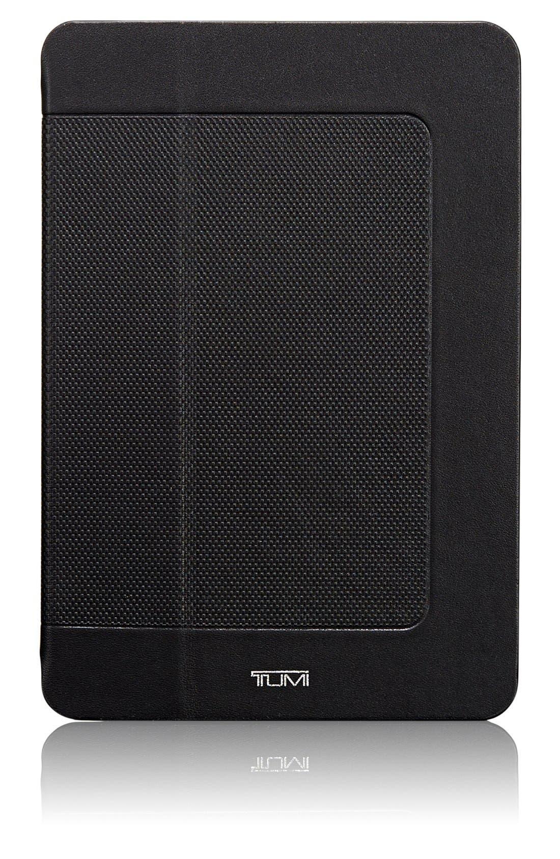 'Prism' Leather iPad mini Case, Main, color, 001
