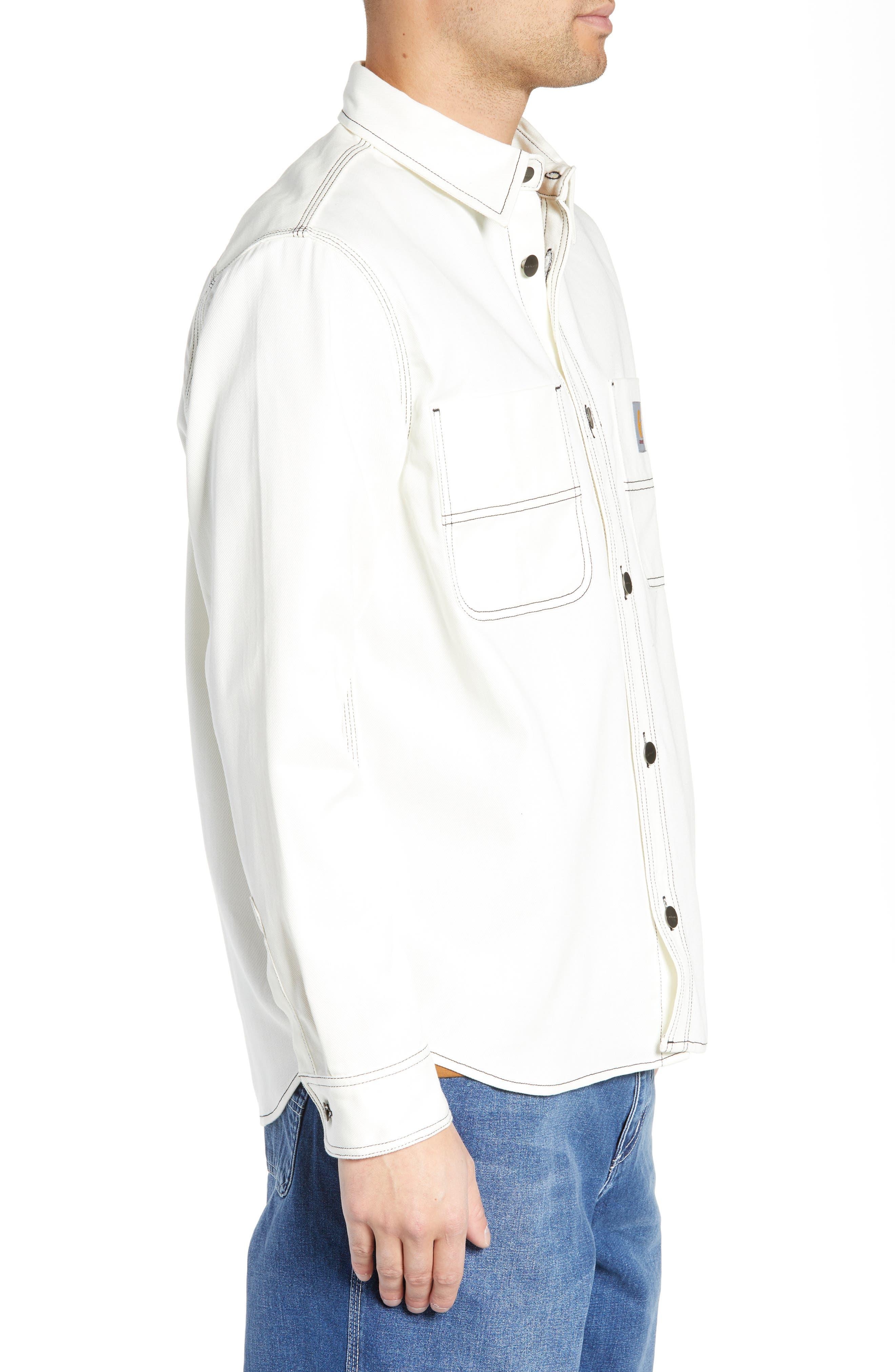 Shirt Jacket,                             Alternate thumbnail 4, color,                             WAX
