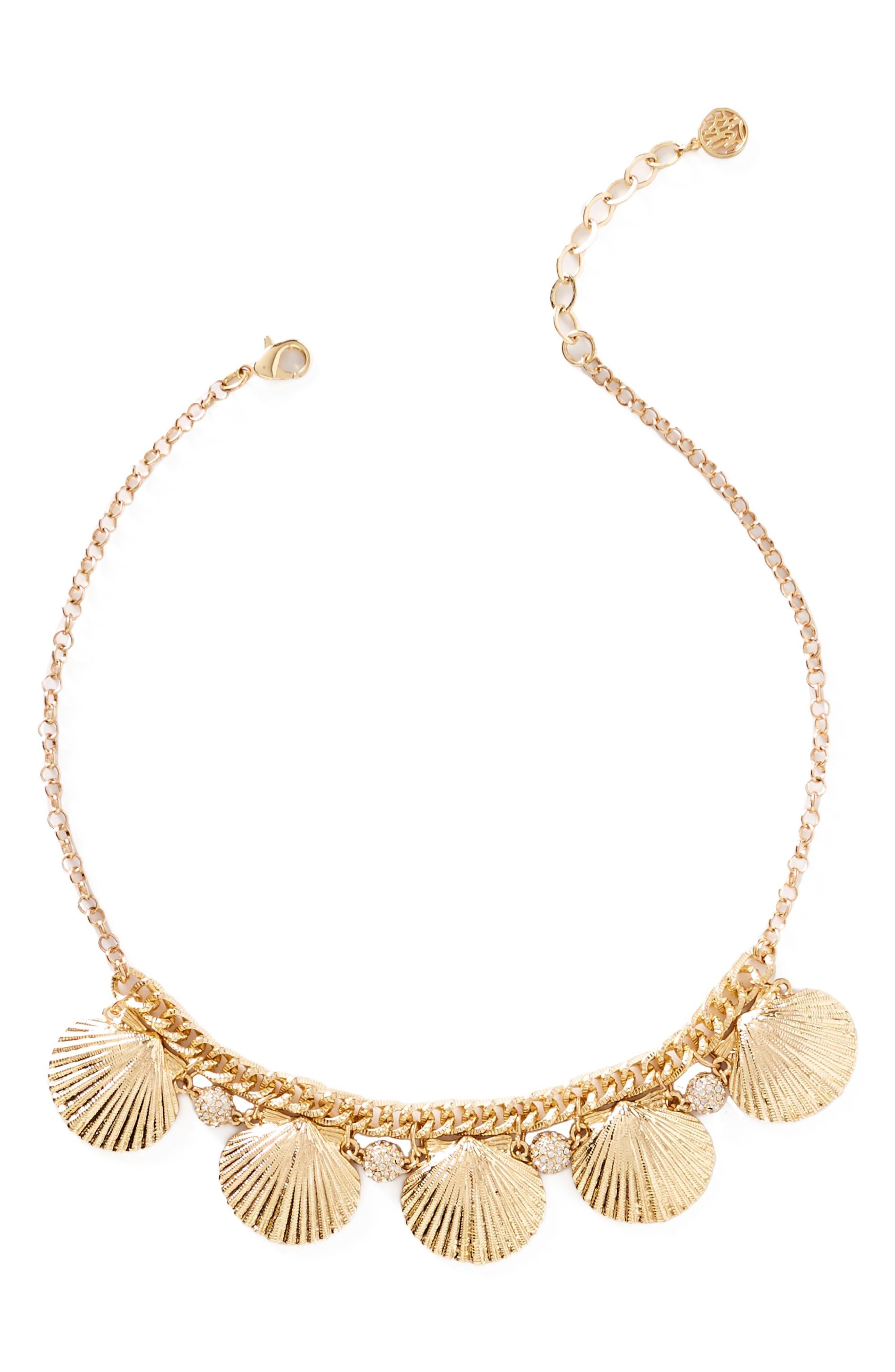 Sea Fan Necklace,                         Main,                         color, 710
