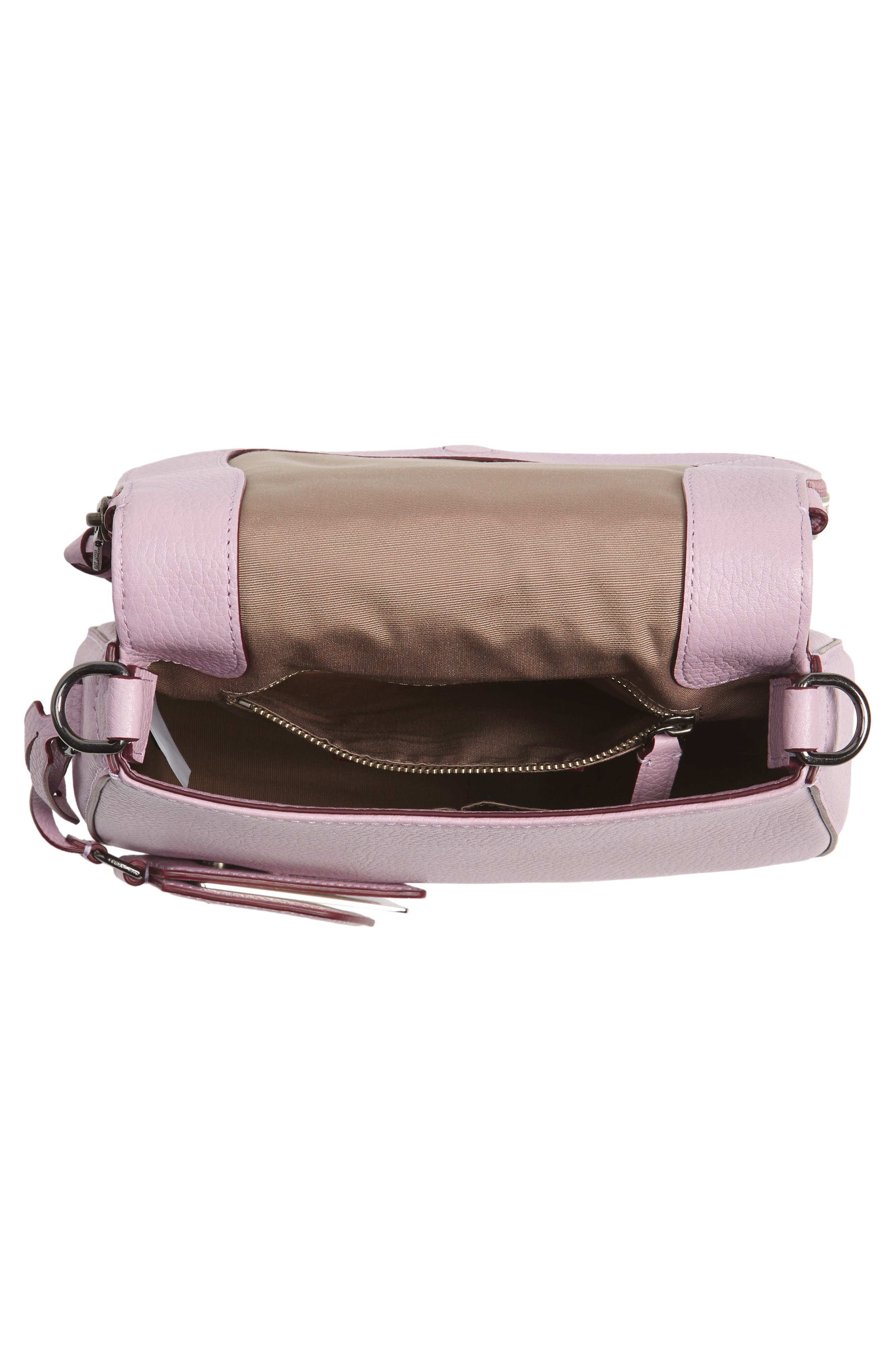 Small Recruit Nomad Pebbled Leather Crossbody Bag,                             Alternate thumbnail 53, color,