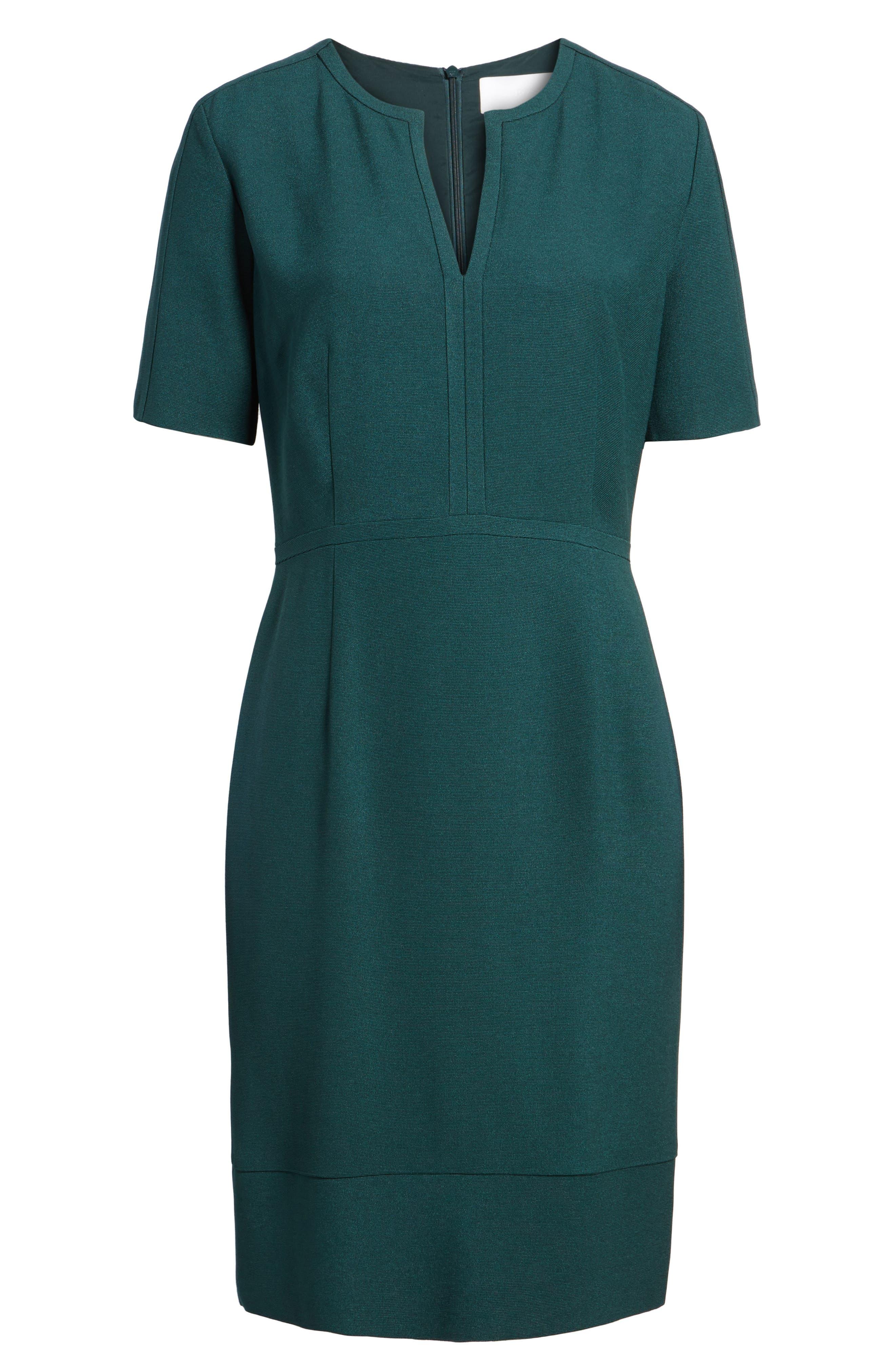 Dalesana Sheath Dress,                             Alternate thumbnail 6, color,                             301
