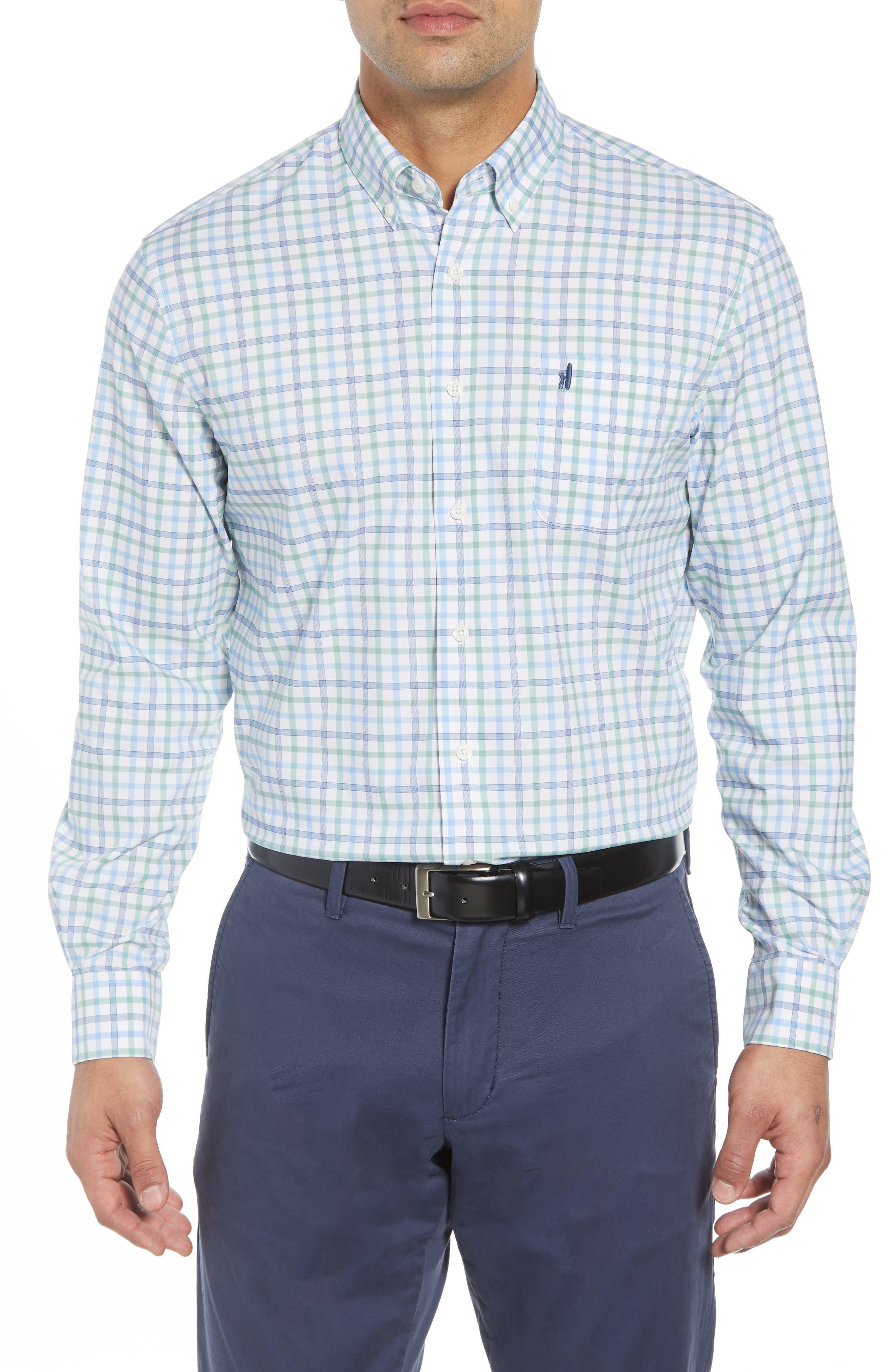 Gaffton Classic Fit Sport Shirt,                         Main,                         color, ELM