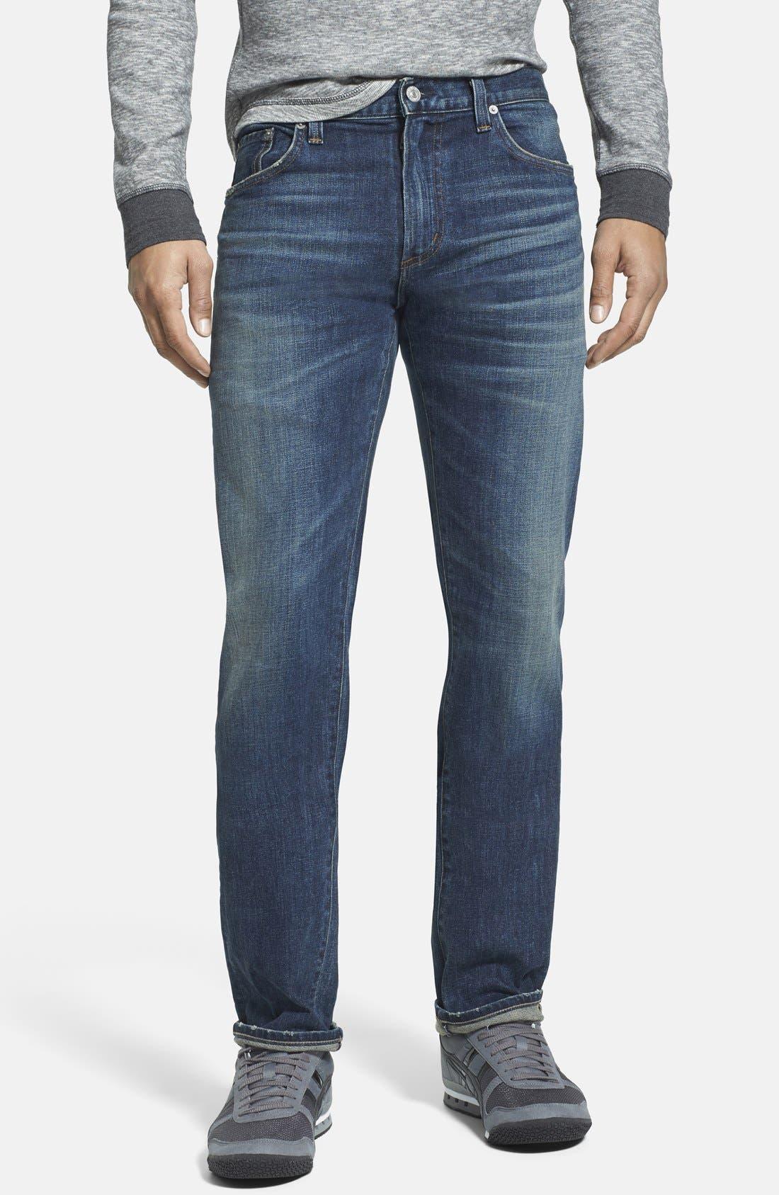 'Core' Slim Fit Jeans,                         Main,                         color, MORRISON