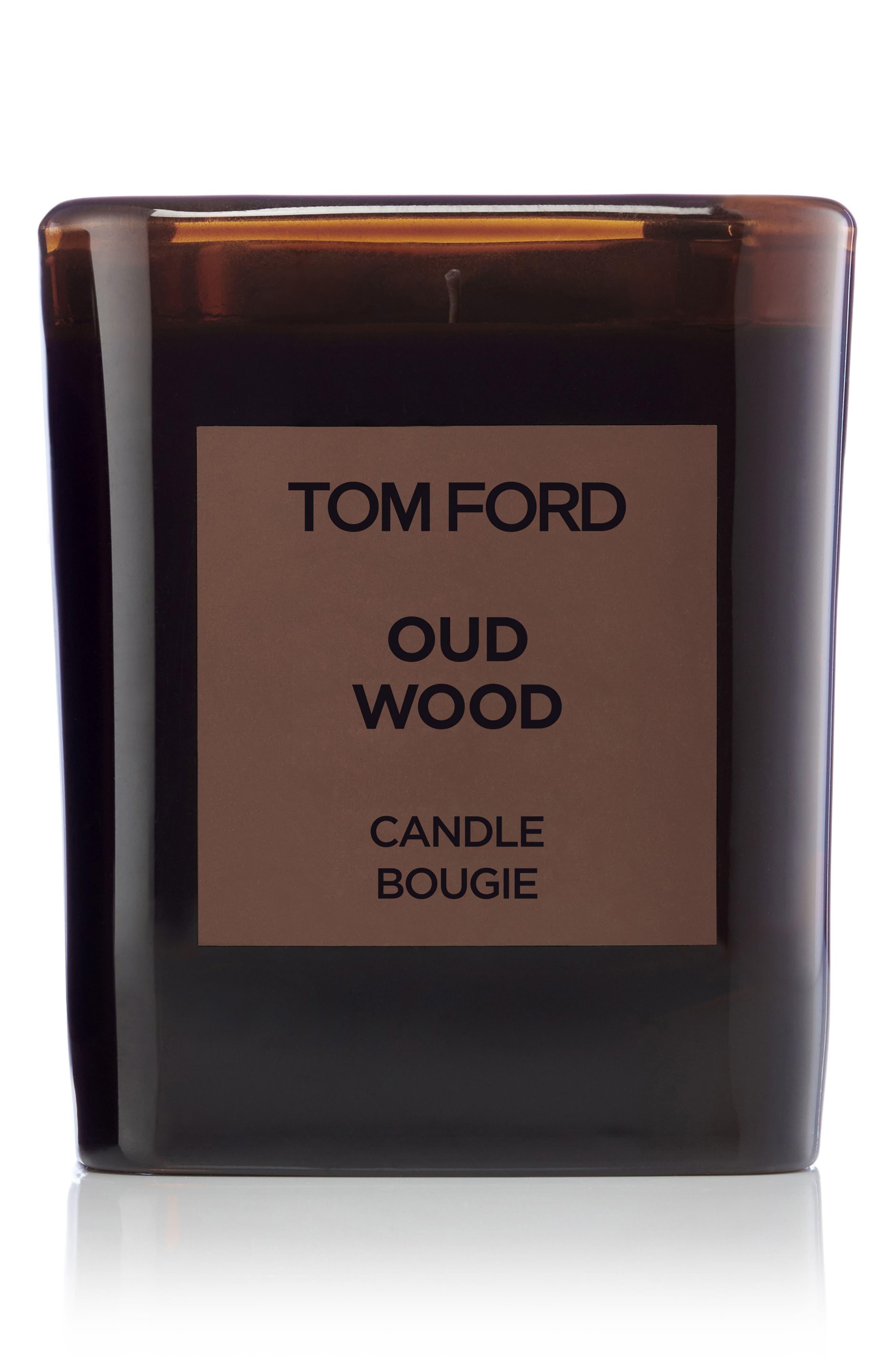 Oud Wood Candle,                             Main thumbnail 1, color,                             NO COLOR