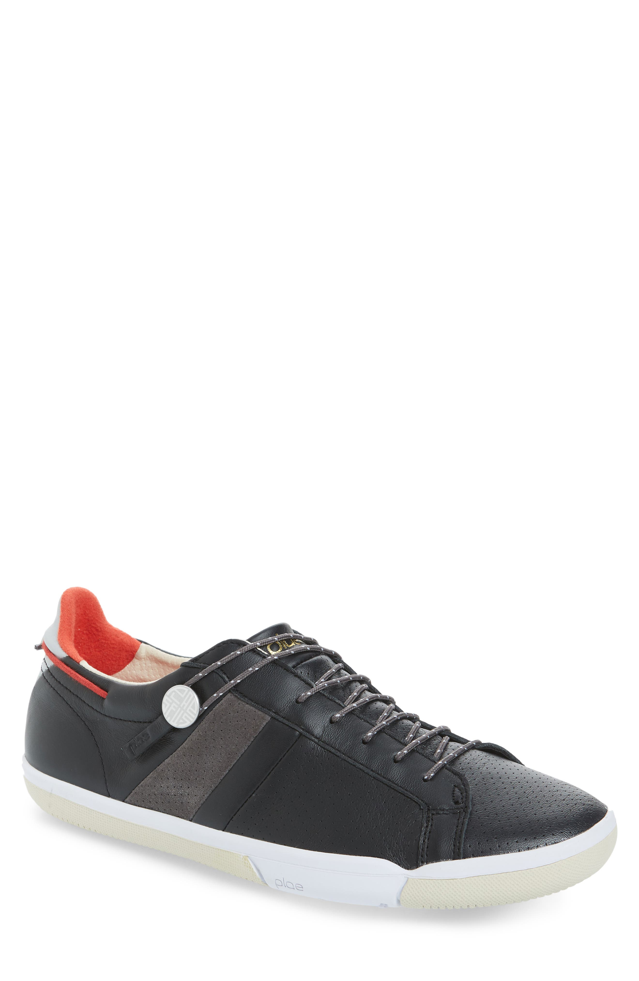 Mulberry Low Top Sneaker,                             Main thumbnail 1, color,                             BLACK