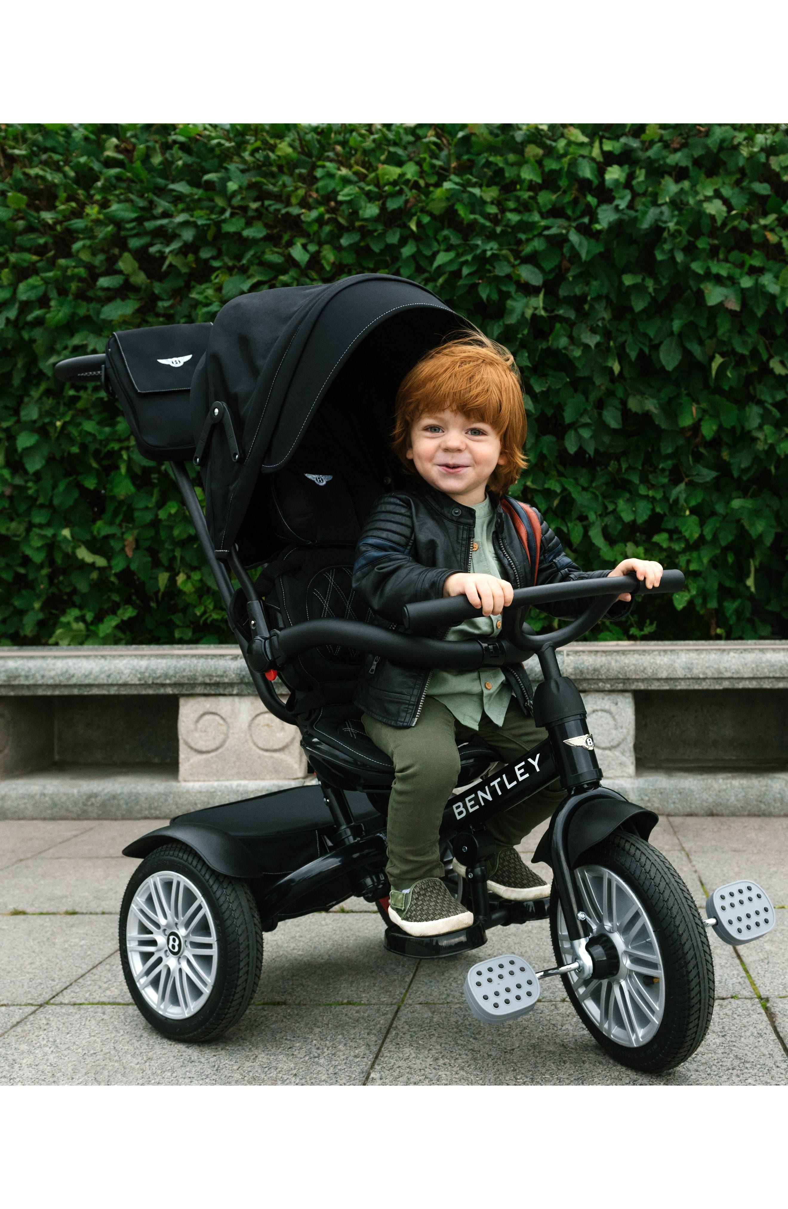 Bentley 6-in-1 Stroller/Trike,                             Alternate thumbnail 10, color,                             ONYX BLACK