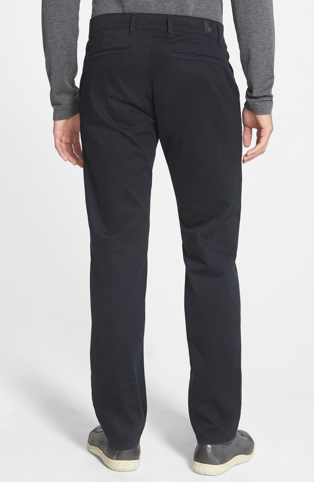 'The Lux' Tailored Straight Leg Chinos,                             Alternate thumbnail 30, color,