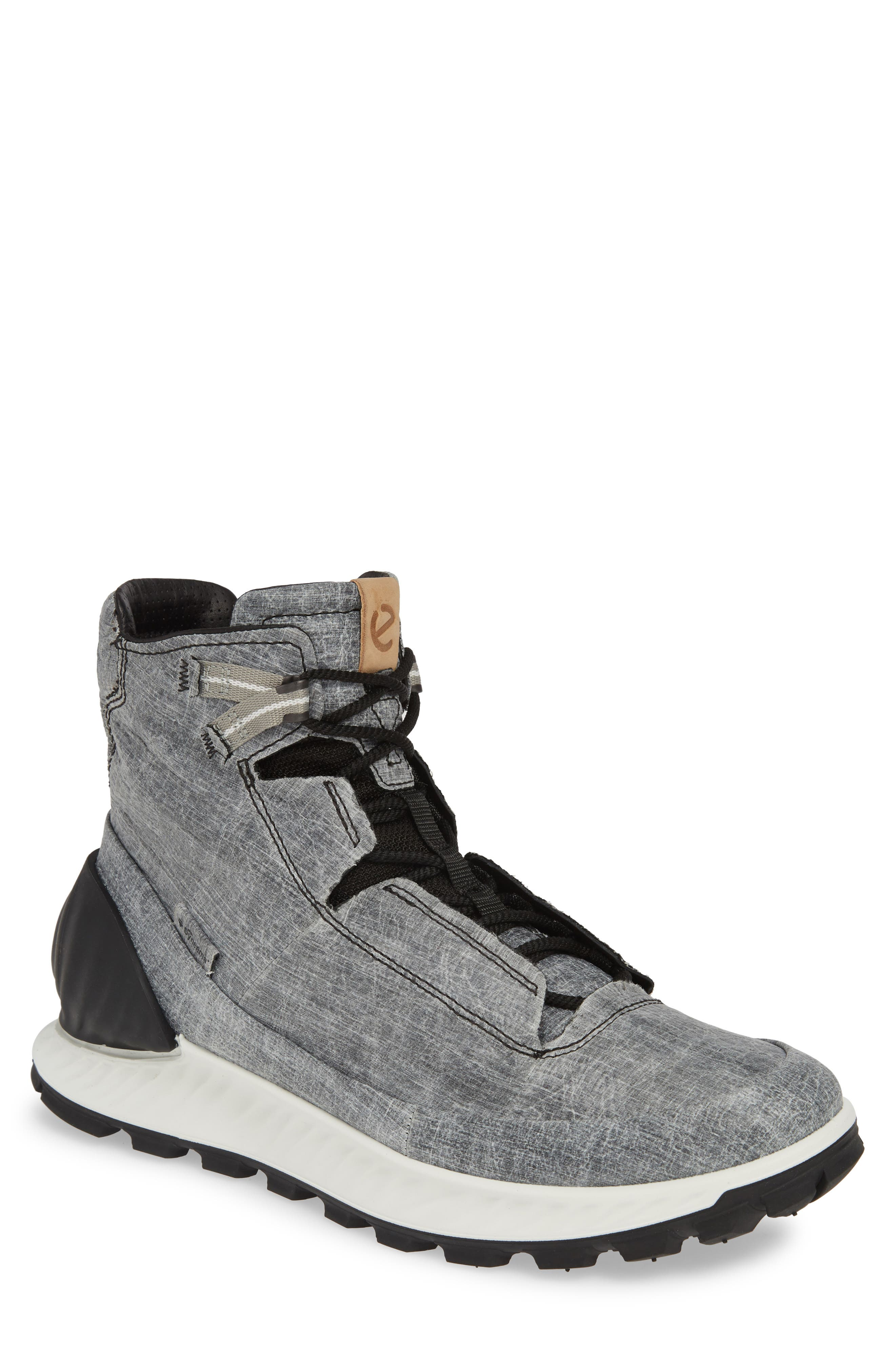 Ecco Limited Edition Exostrike Dyneema Sneaker Boot, Grey