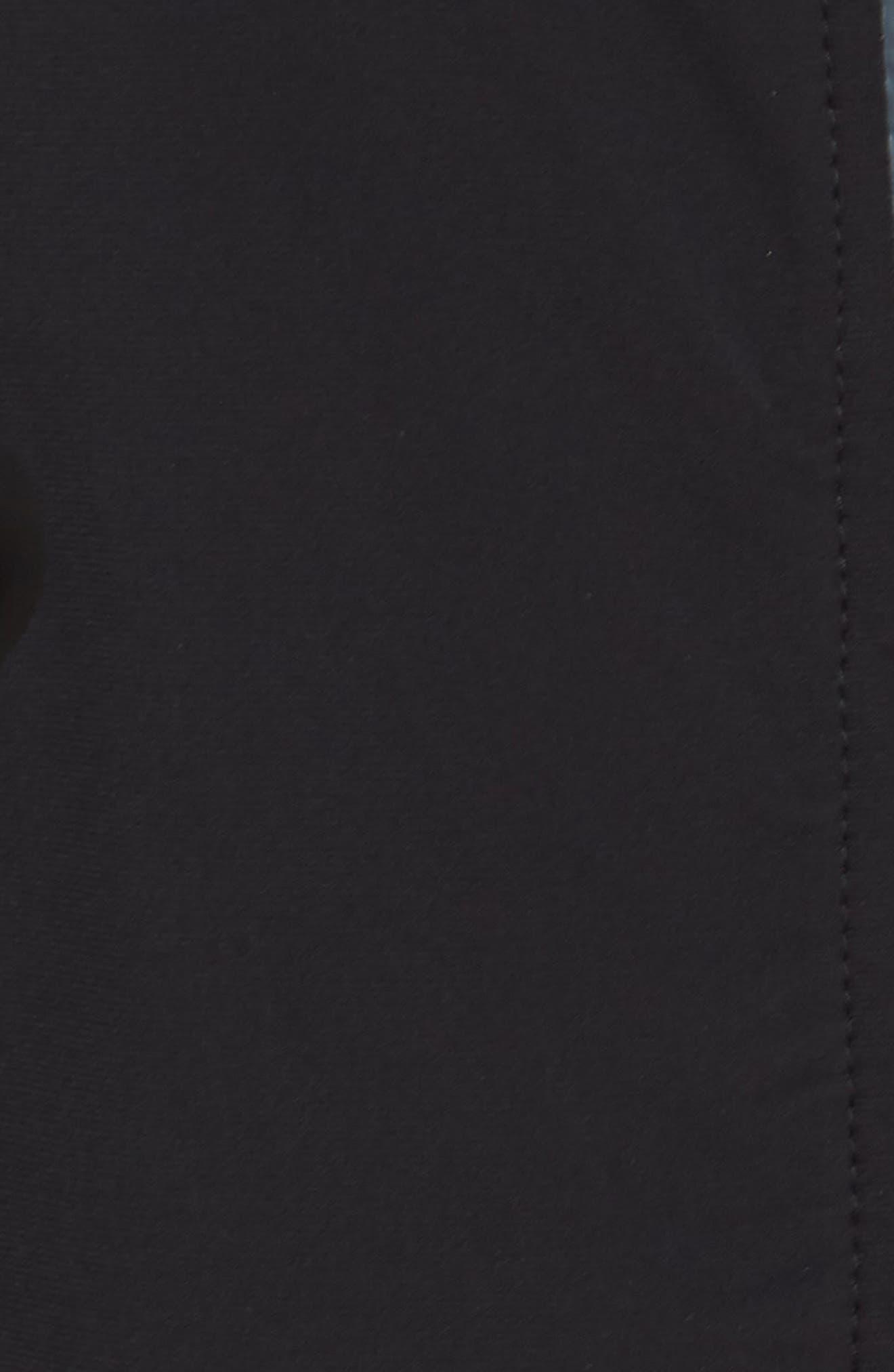 Jog Jacket,                             Alternate thumbnail 6, color,                             BLACK