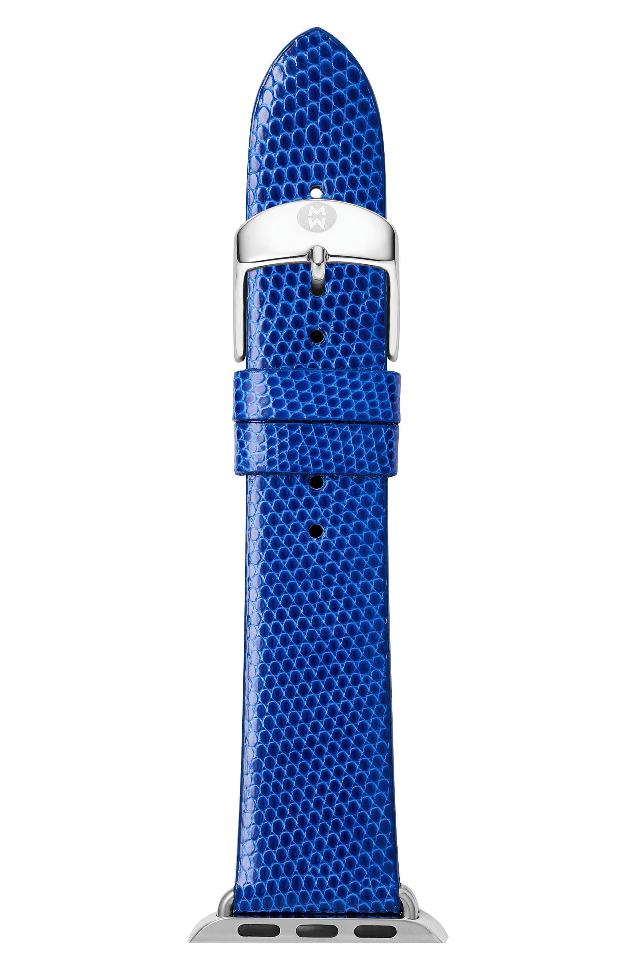 Apple Lizard Watch Strap, 38mm,                         Main,                         color, 400