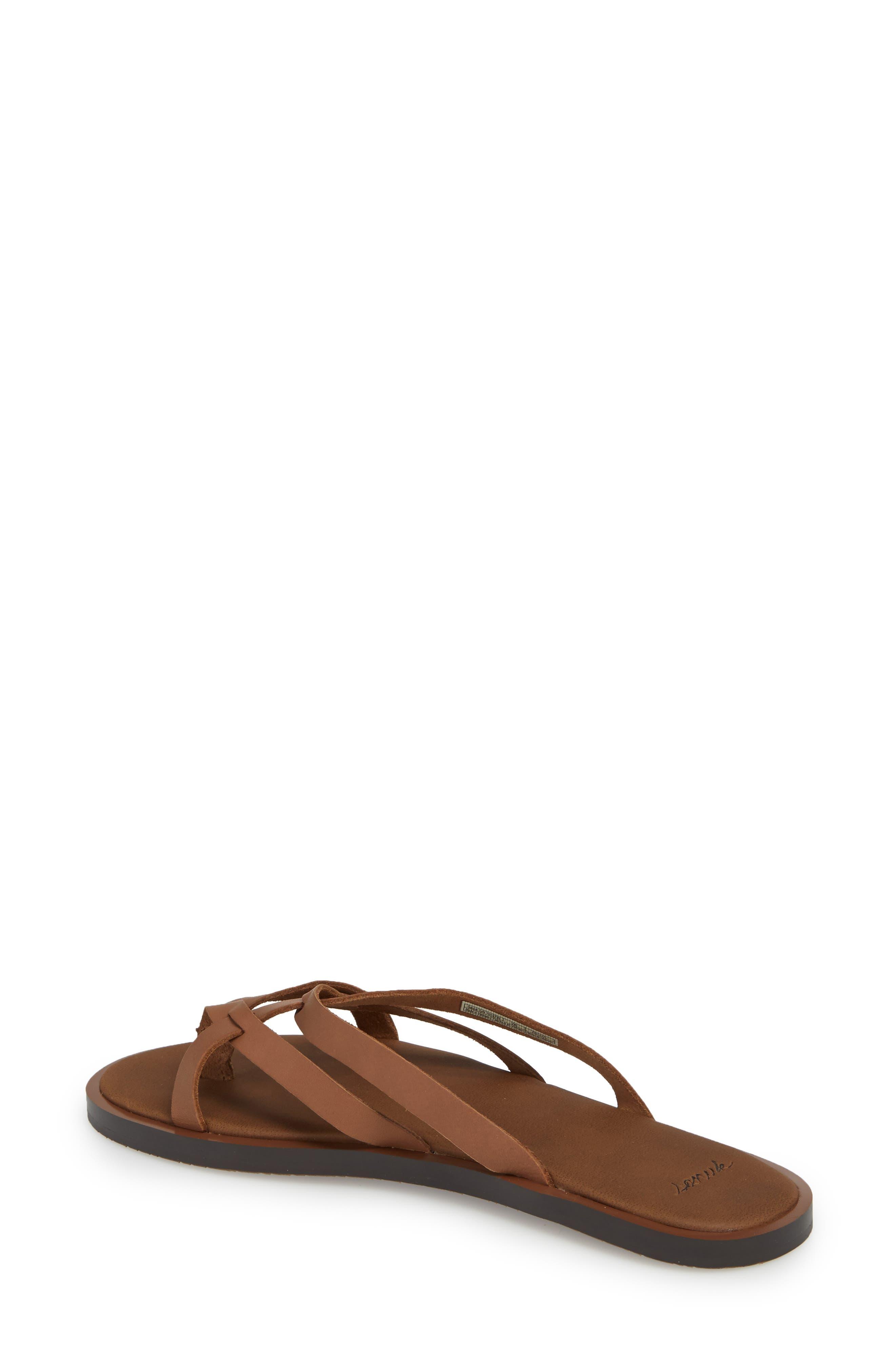 Yoga Strappy Thong Sandal,                             Alternate thumbnail 5, color,