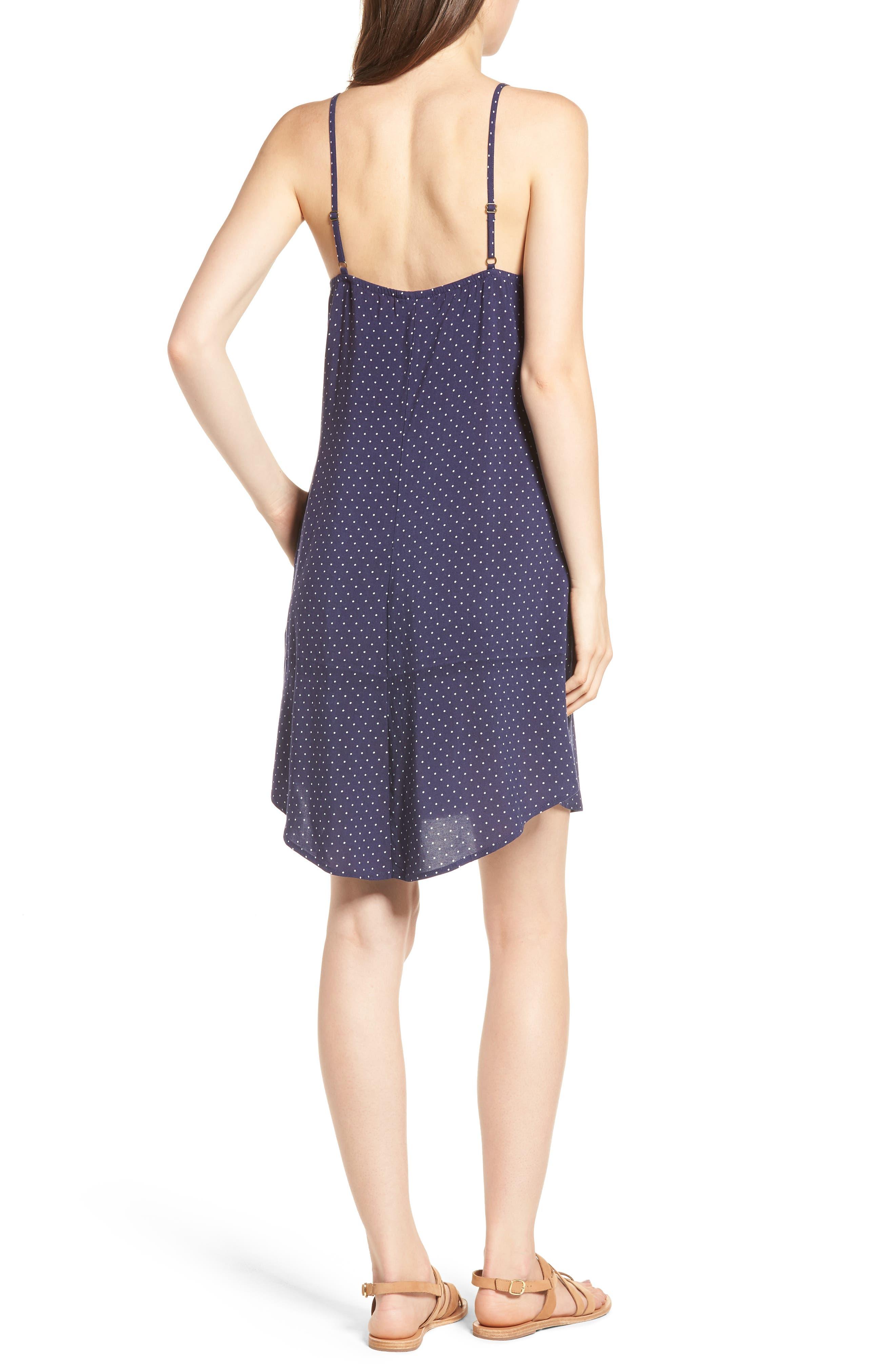 Button Front Dress,                             Alternate thumbnail 2, color,