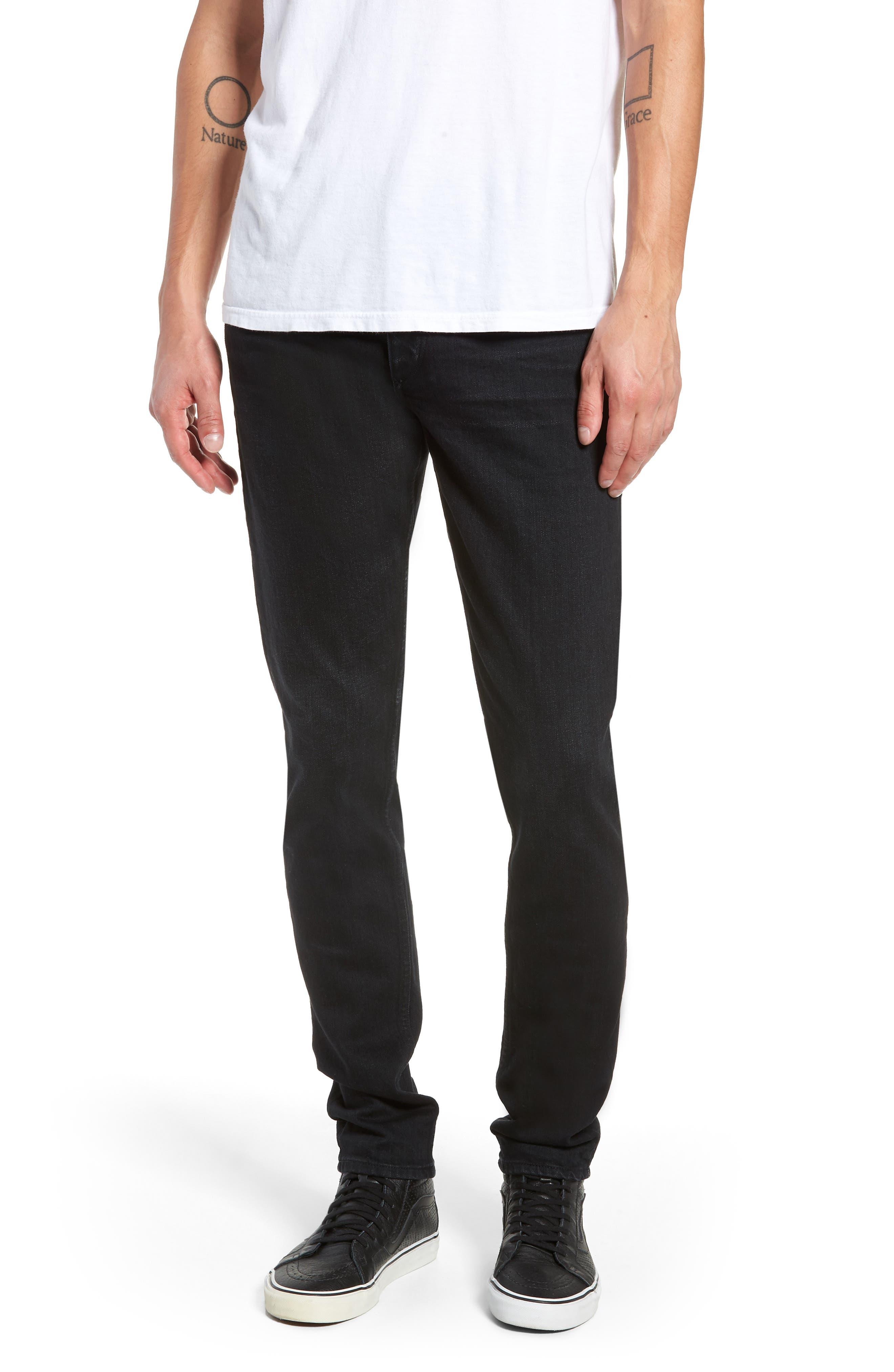Fit 1 Skinny Fit Jeans,                             Main thumbnail 1, color,                             DEVON
