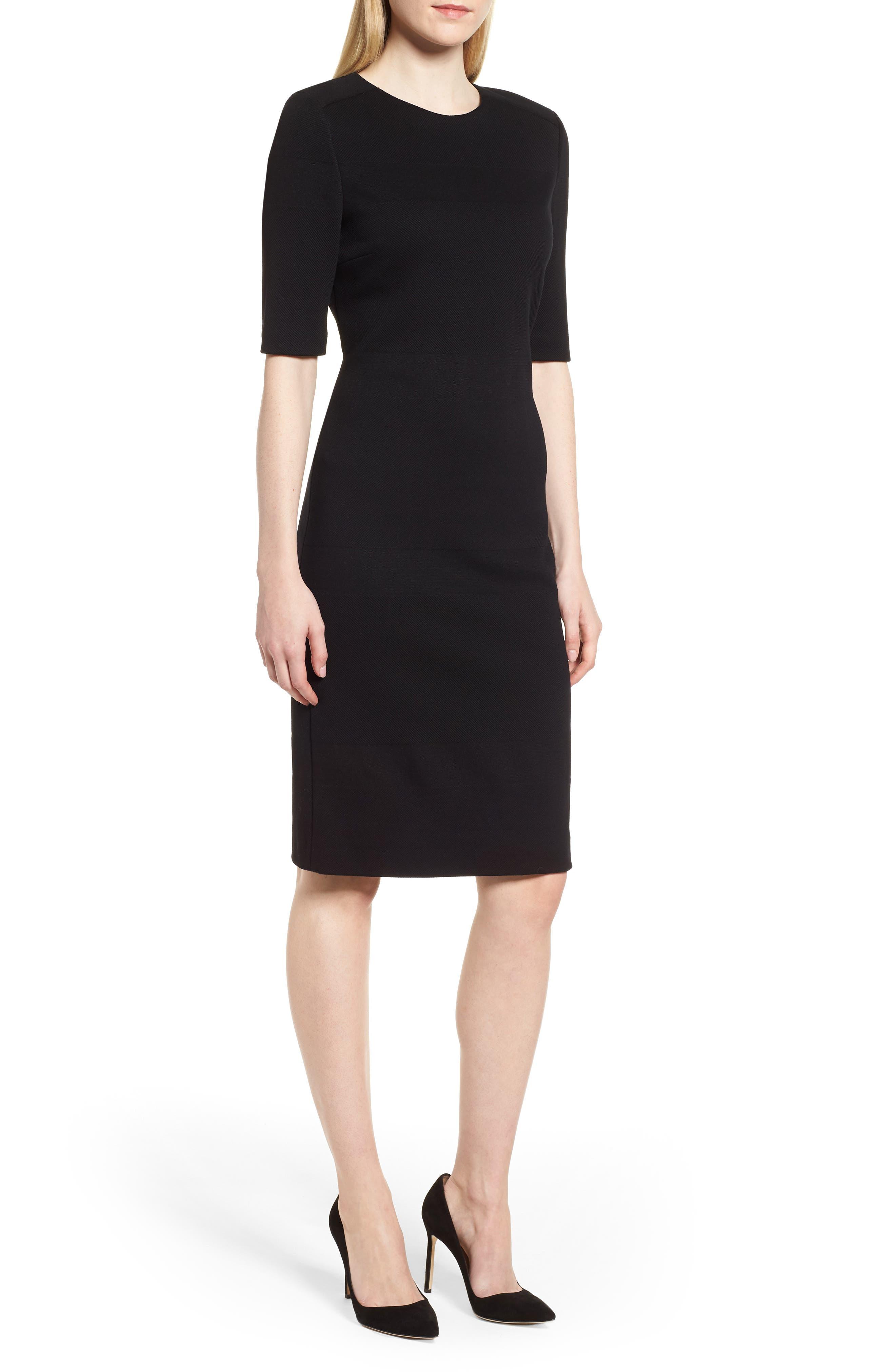 Hibela Sheath Dress,                             Main thumbnail 1, color,                             006