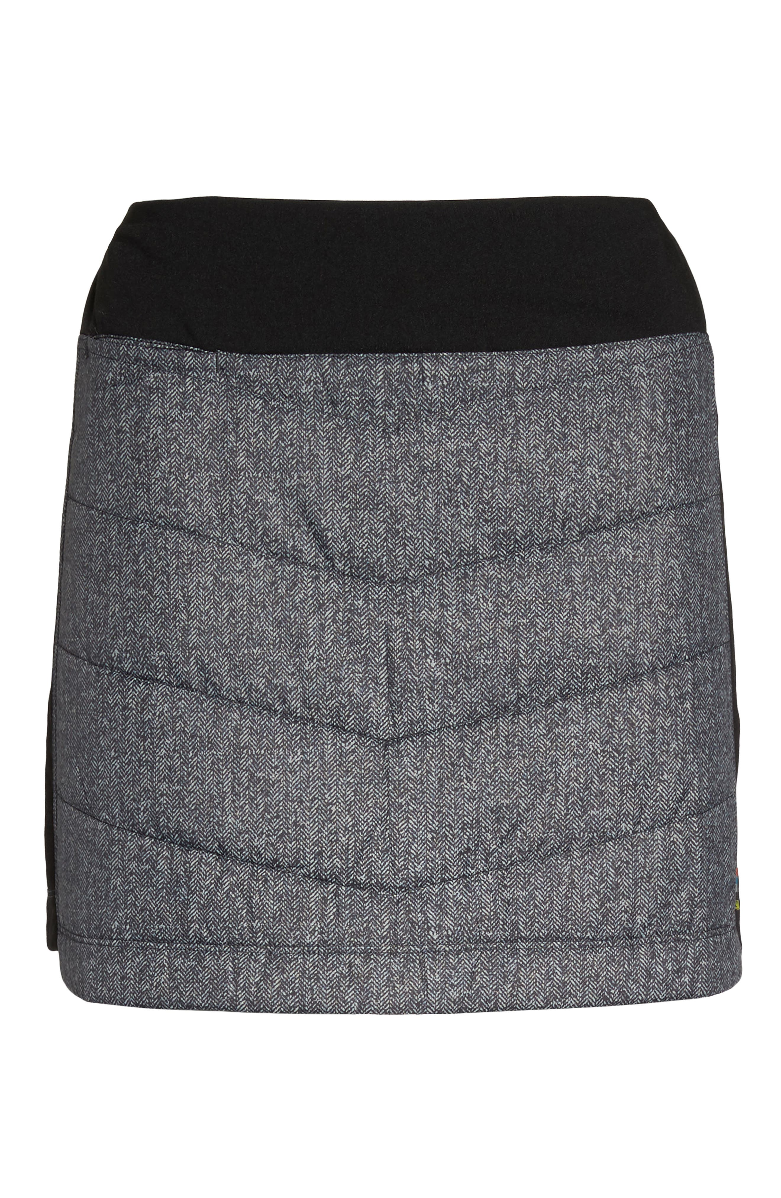 Propulsion 60 Quilted Skirt,                             Alternate thumbnail 7, color,                             001
